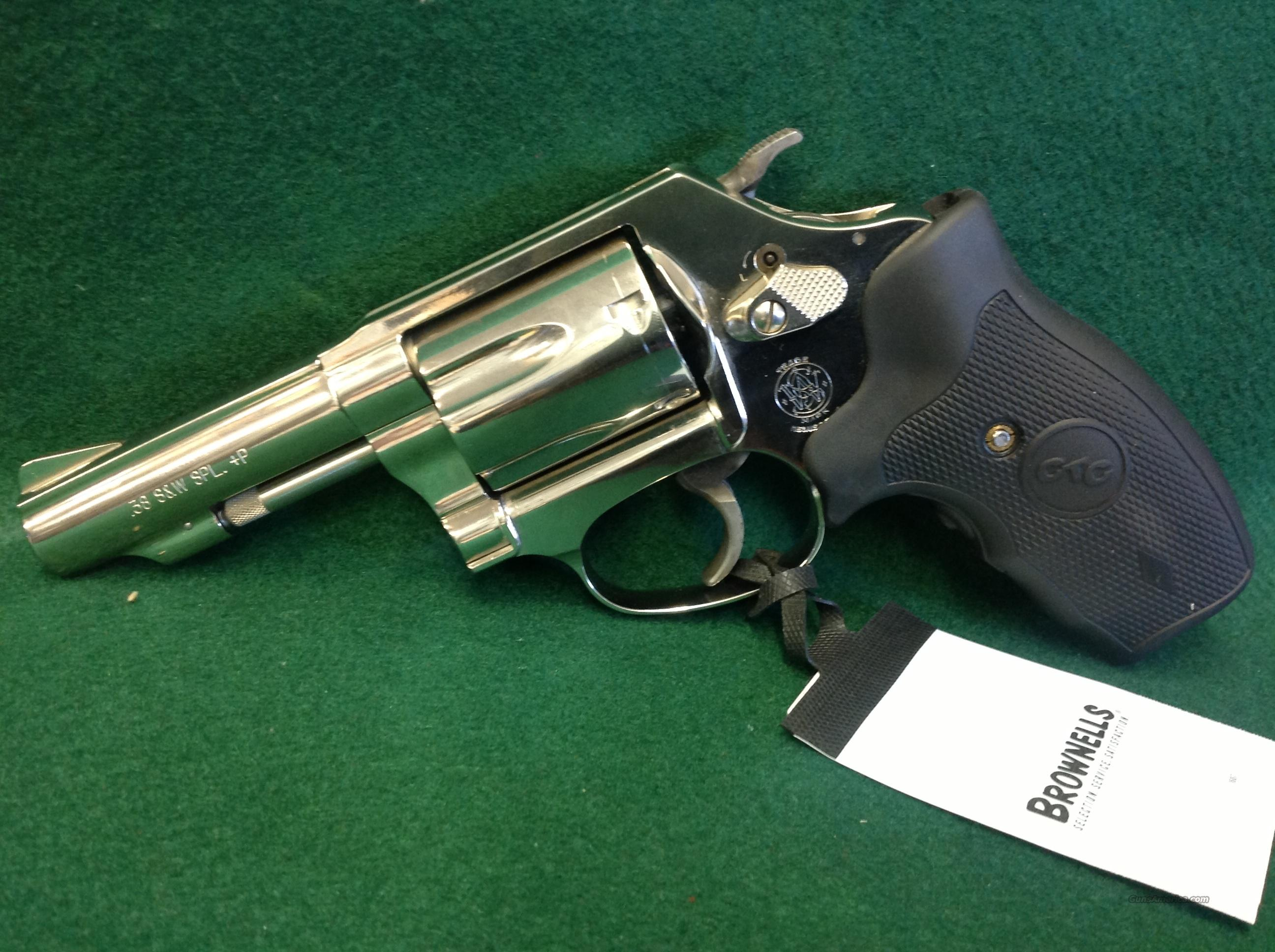 Smith & Wesson Model 36 Crimson Trace  Guns > Pistols > Smith & Wesson Revolvers > Full Frame Revolver