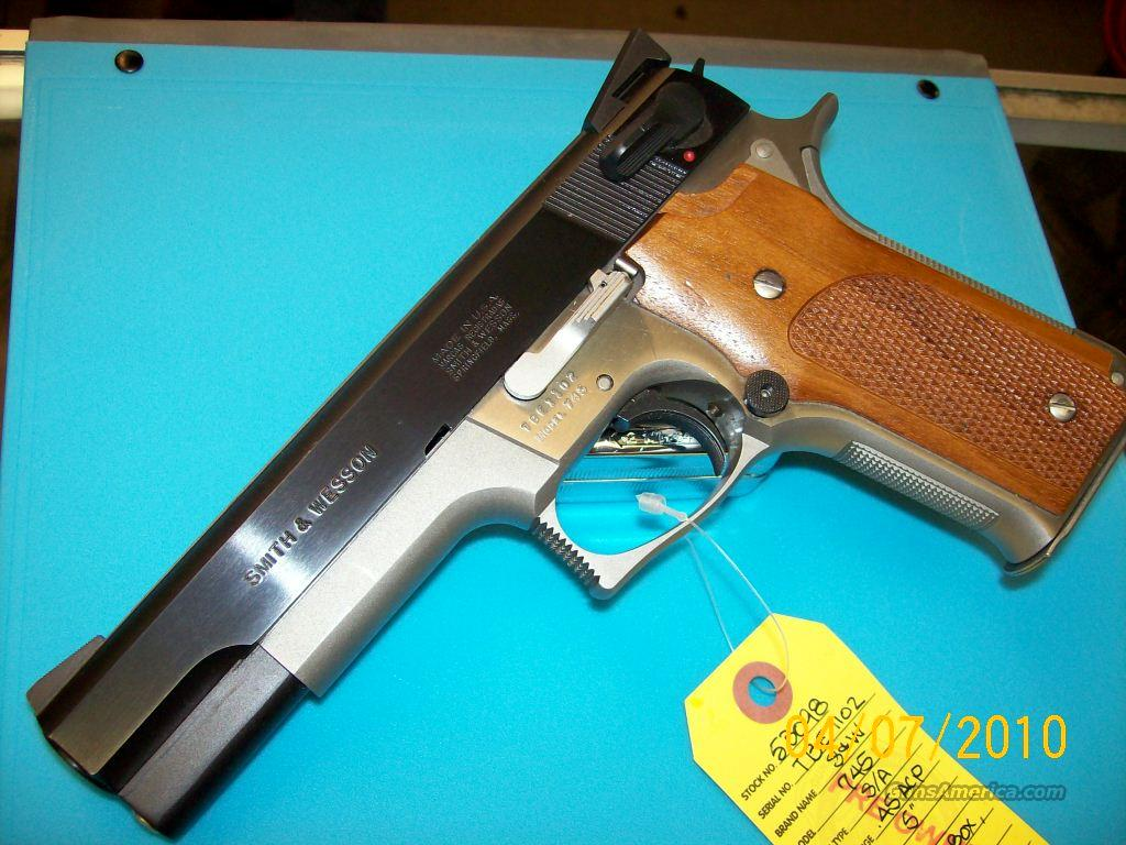 53098  S&W 745 in Box. Very Nice!  Guns > Pistols > Smith & Wesson Pistols - Autos > Alloy Frame
