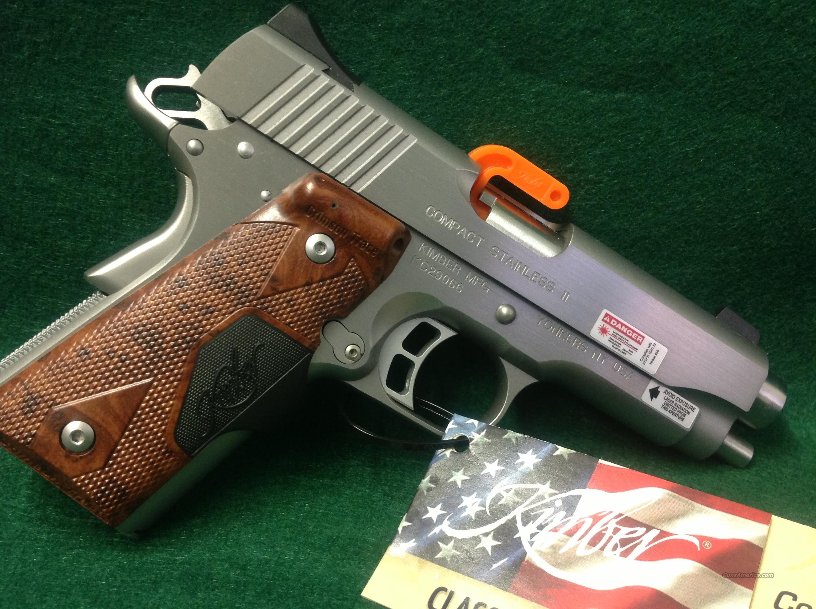 Kimber Compact Stainless II (LG)  Guns > Pistols > Kimber of America Pistols
