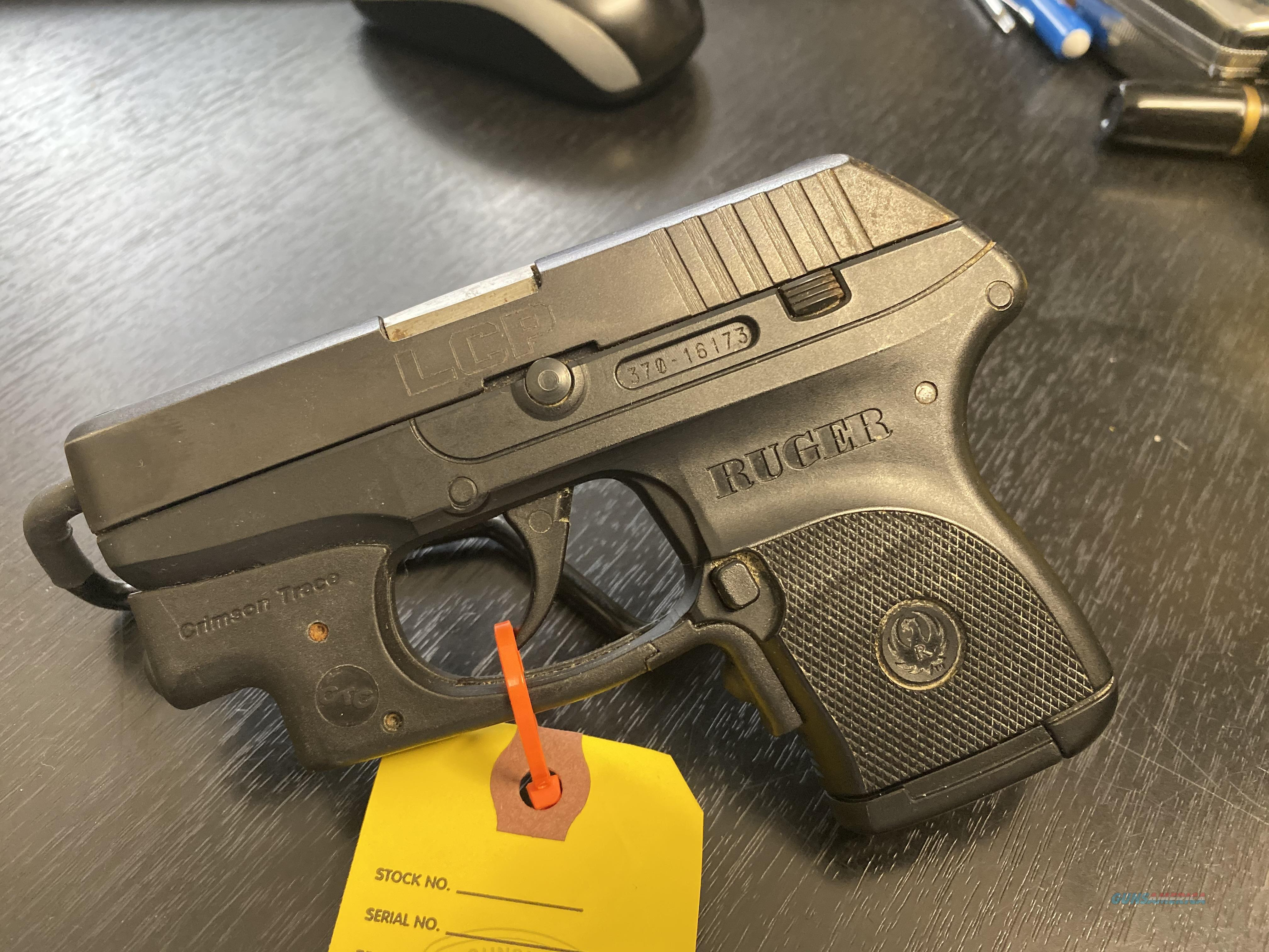 Ruger LCP w/ Laser  Guns > Pistols > Ruger Semi-Auto Pistols > LCP