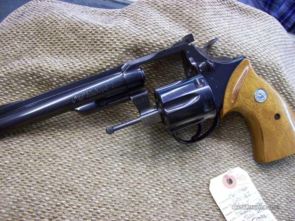 "51153X  COLT TROOPER MK III   6""  .357  Guns > Pistols > Colt Double Action Revolvers- Modern"
