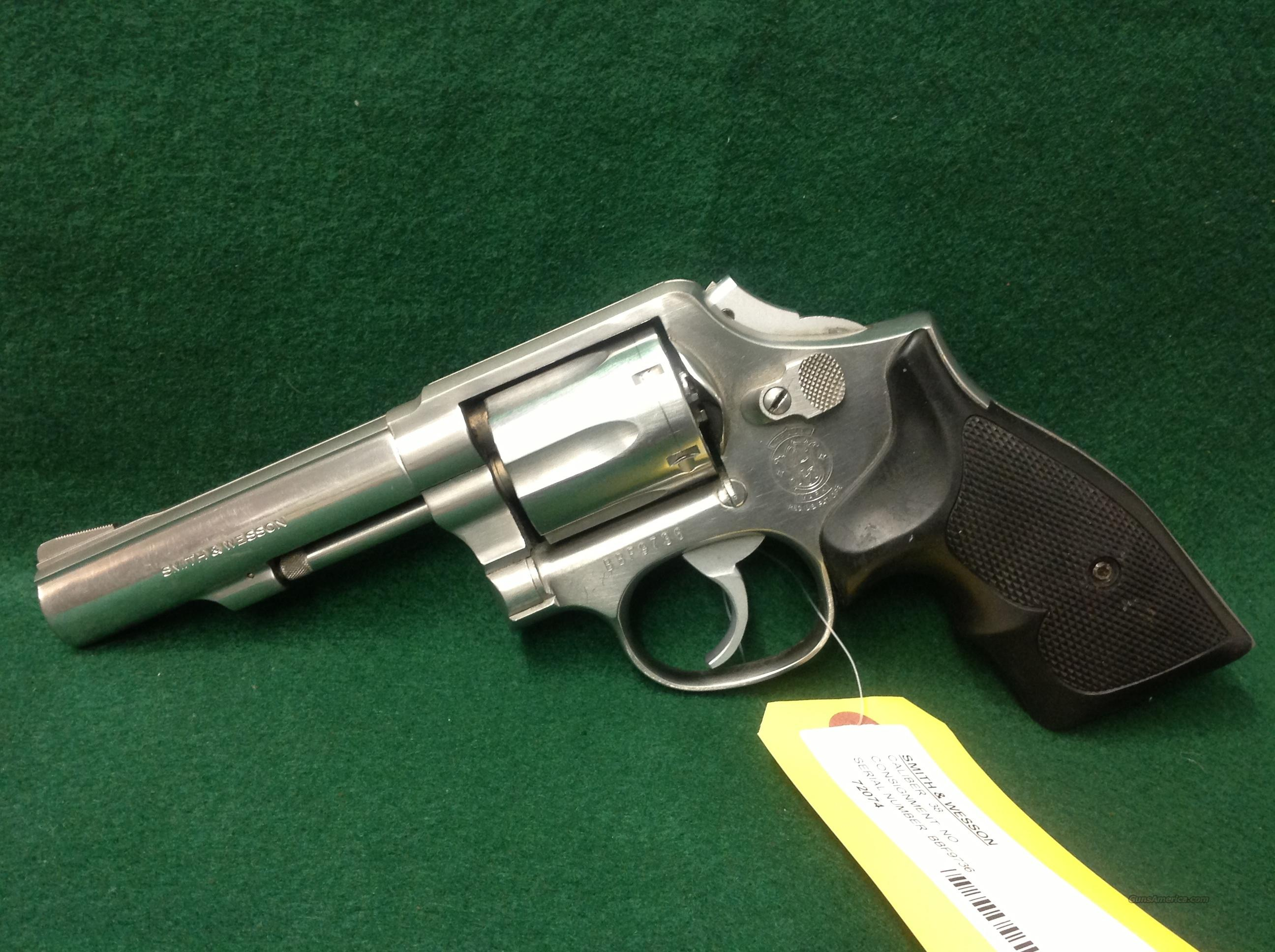 Smith & Wesson 64-5  Guns > Pistols > Smith & Wesson Revolvers > Full Frame Revolver