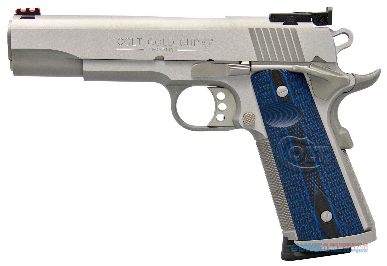 Colt 1911 Gold Cup Trophy  Series 70 O5072XE  Guns > Pistols > Colt Automatic Pistols (1911 & Var)