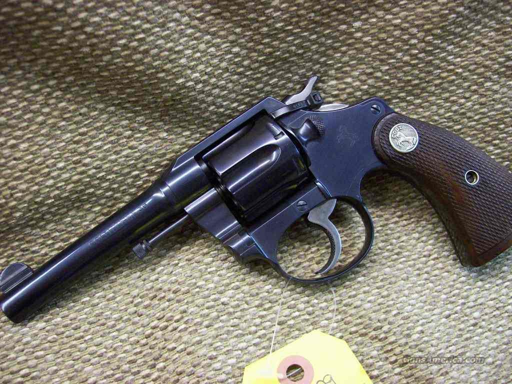 58929 COLT POLICE POSITIVE .38 New Police AS NEW!  Guns > Pistols > Colt Double Action Revolvers- Pre-1945