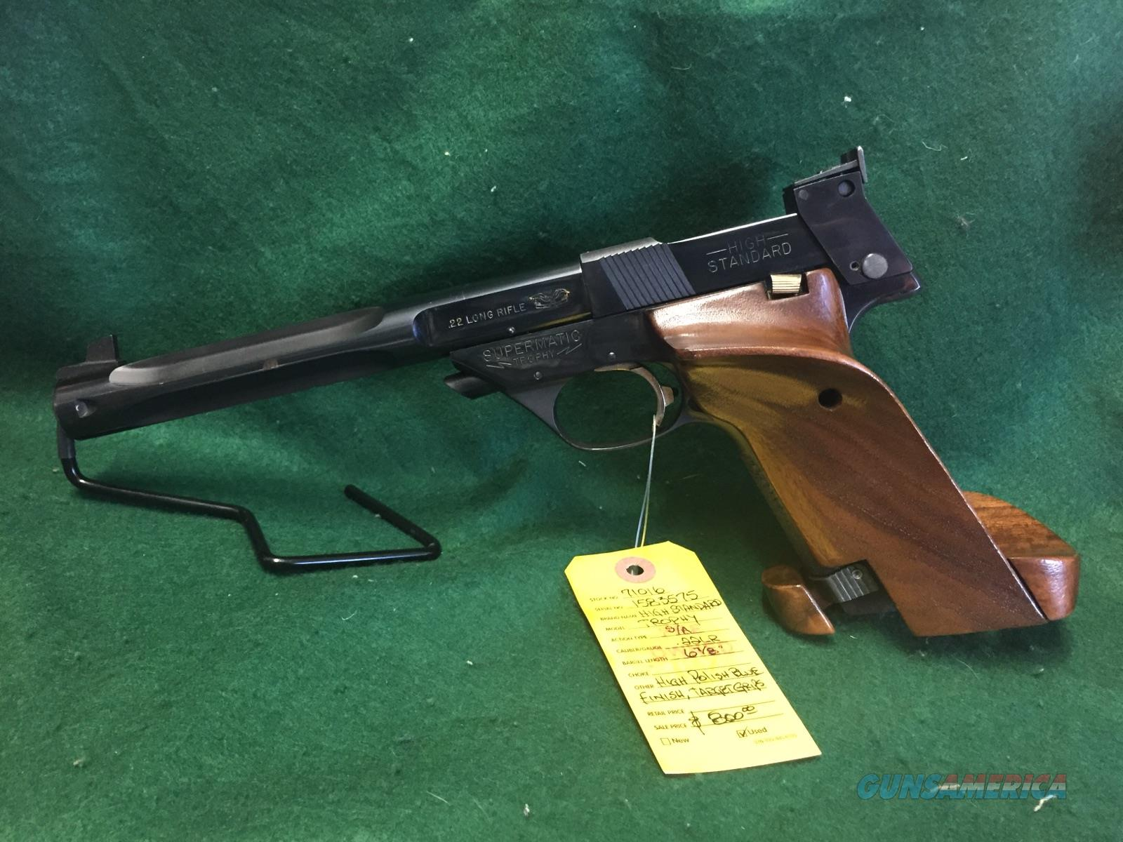 High Standard Supermatic Trophy 106   Guns > Pistols > High Standard Pistols