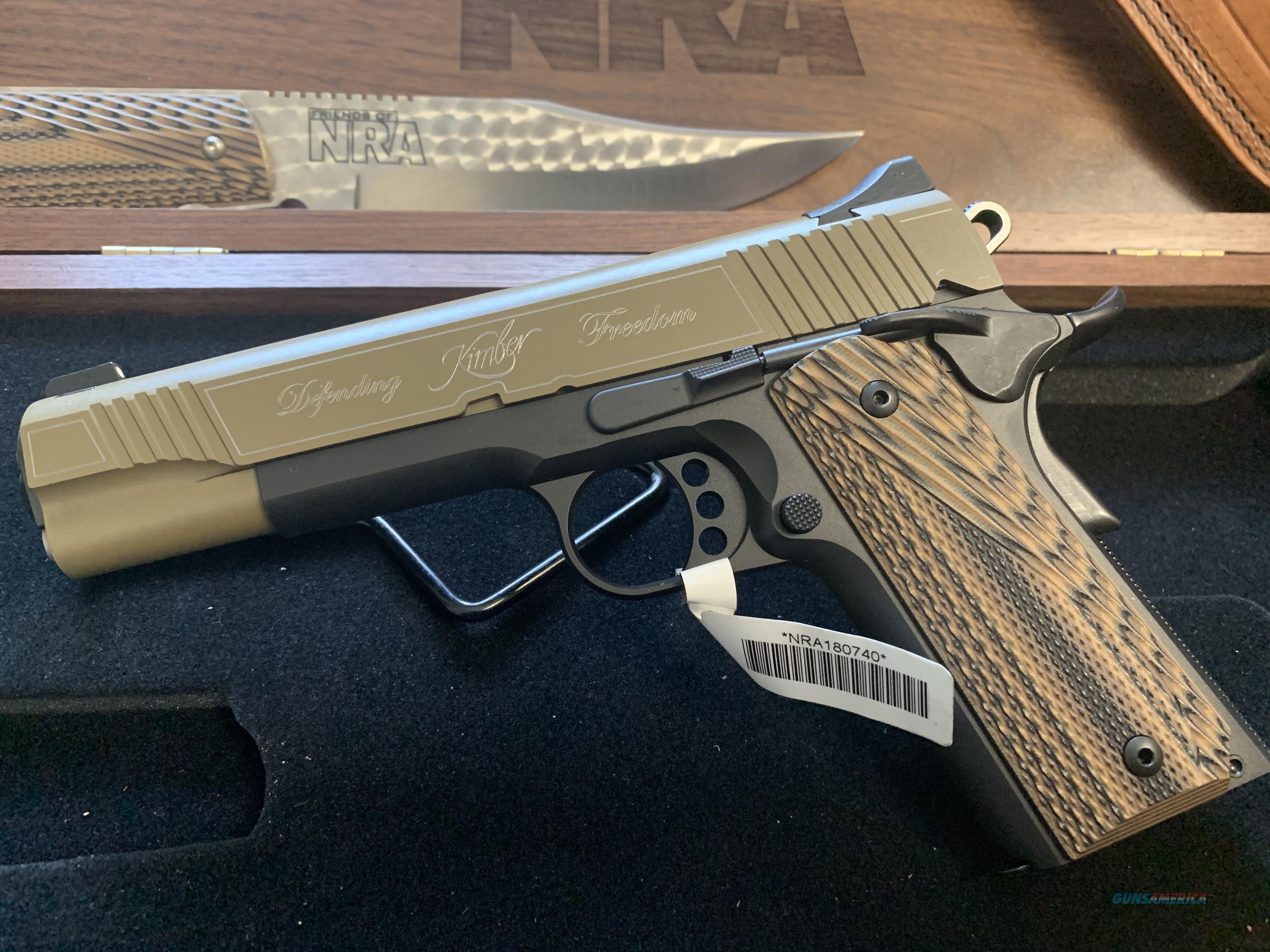 "Kimber NRA Custom II ""2018 Gun of the Year""  Guns > Pistols > Kimber of America Pistols > 1911"