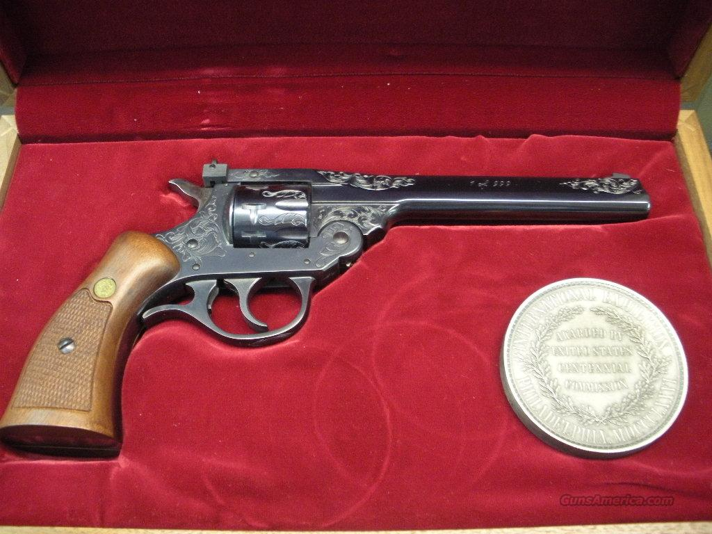 "60421 H&R 999 ""SPORTSMAN"" 1 OF 999 Engraved Revolver  Guns > Pistols > Harrington & Richardson Pistols"
