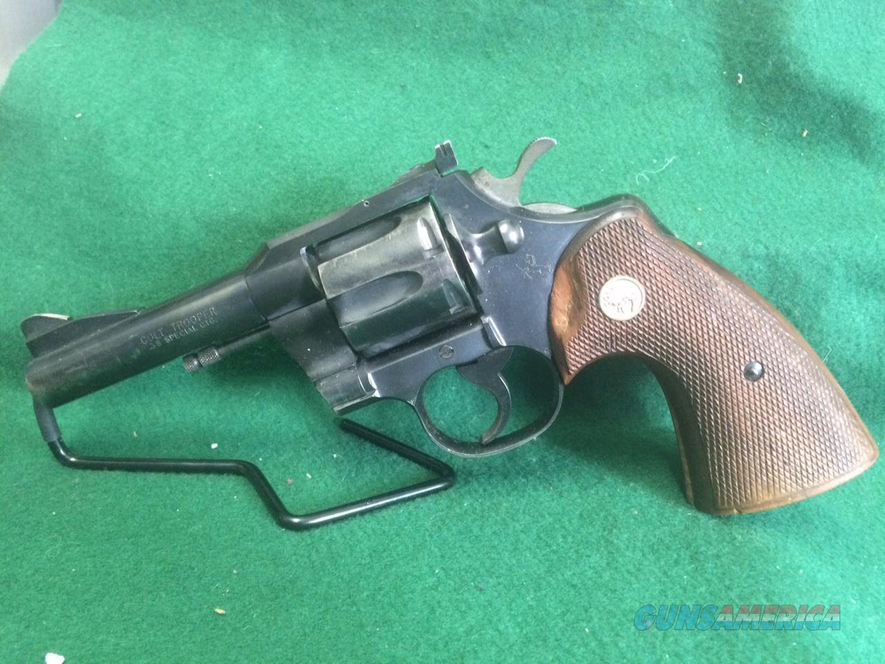 Colt Trooper 38SPL  Guns > Pistols > Colt Double Action Revolvers- Modern