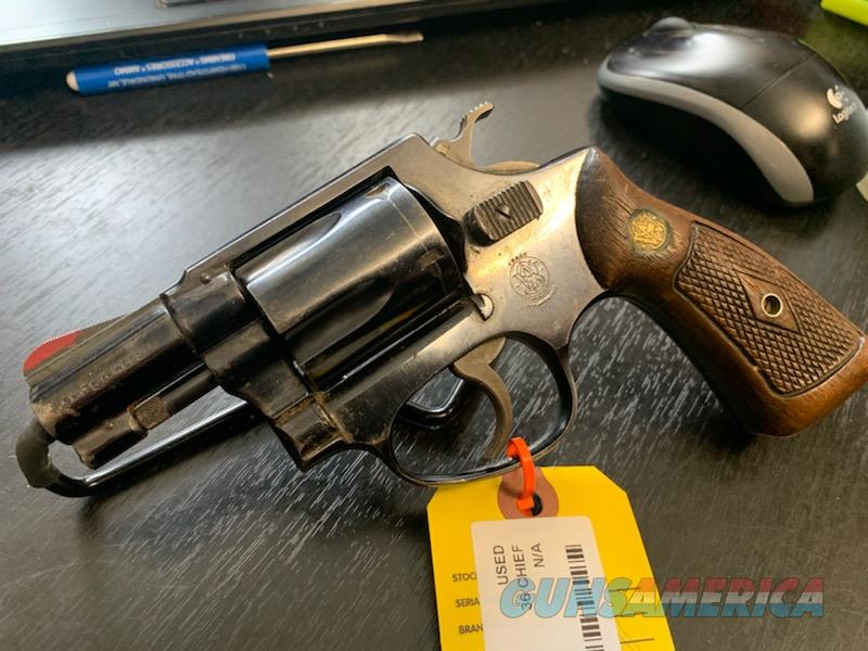 Smith & Wesson Model 36 Chief  Guns > Pistols > Smith & Wesson Revolvers > Small Frame ( J )