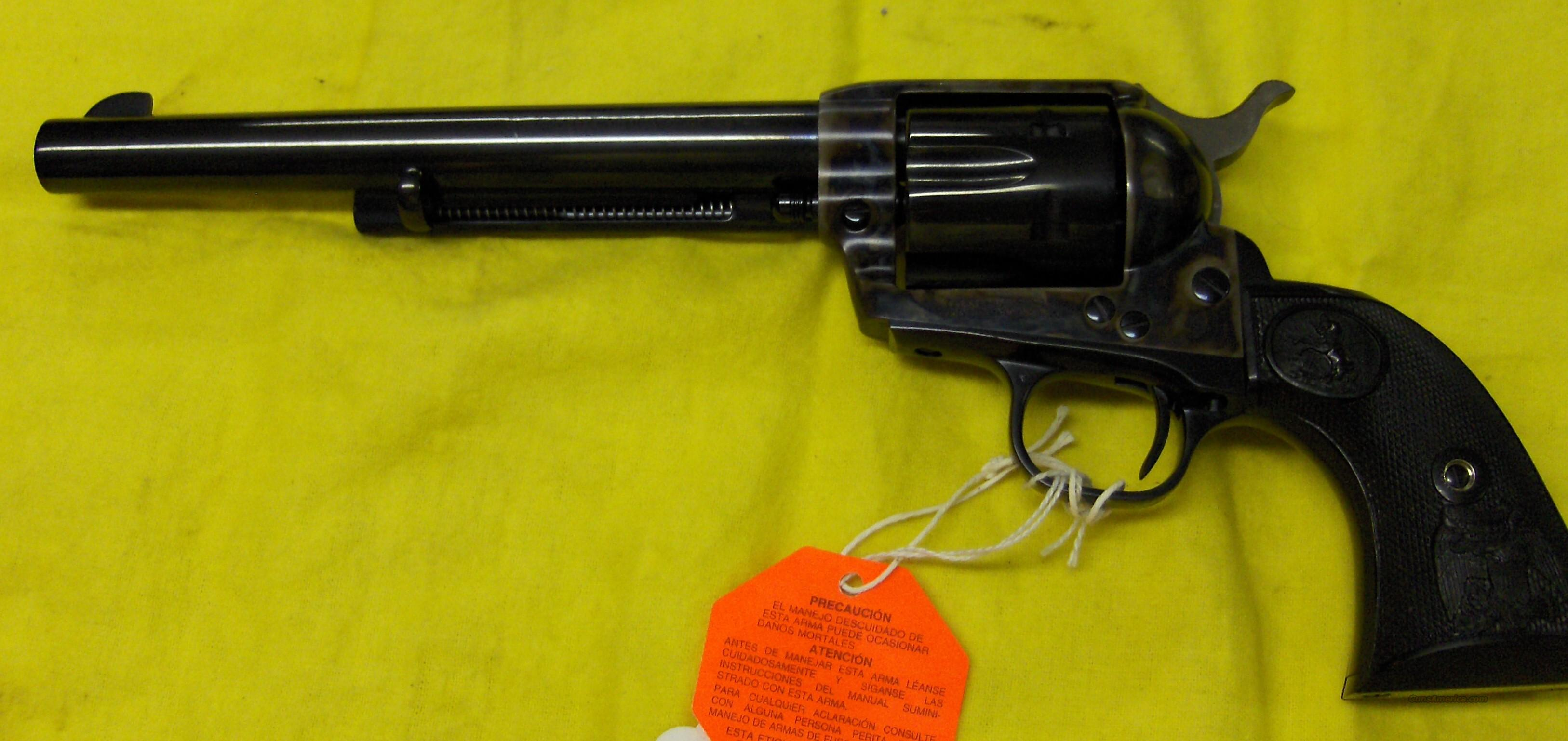 Colt SAA .32-20, 7.5 Bar.  Guns > Pistols > Colt Single Action Revolvers - 3rd Gen.