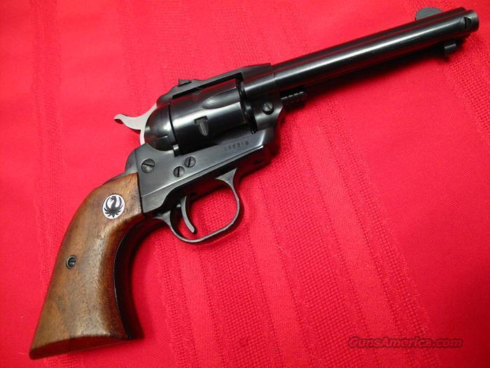 "RUGER SINGLE-SIX 3-SCREW .22 LONG RIFLE 4&5/8"" BARREL 1962 MINT  Guns > Pistols > Ruger Single Action Revolvers > Single Six Type"