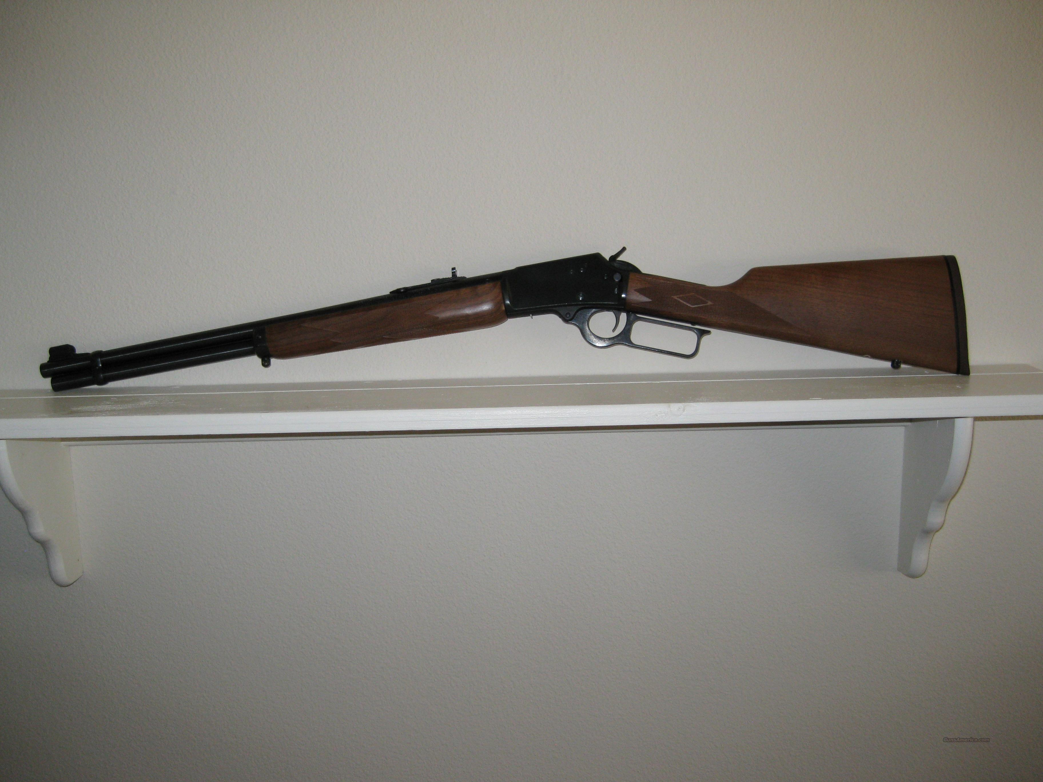 Marlin .44 Magnum/.44 Special  Guns > Rifles > Marlin Rifles > Modern > Lever Action