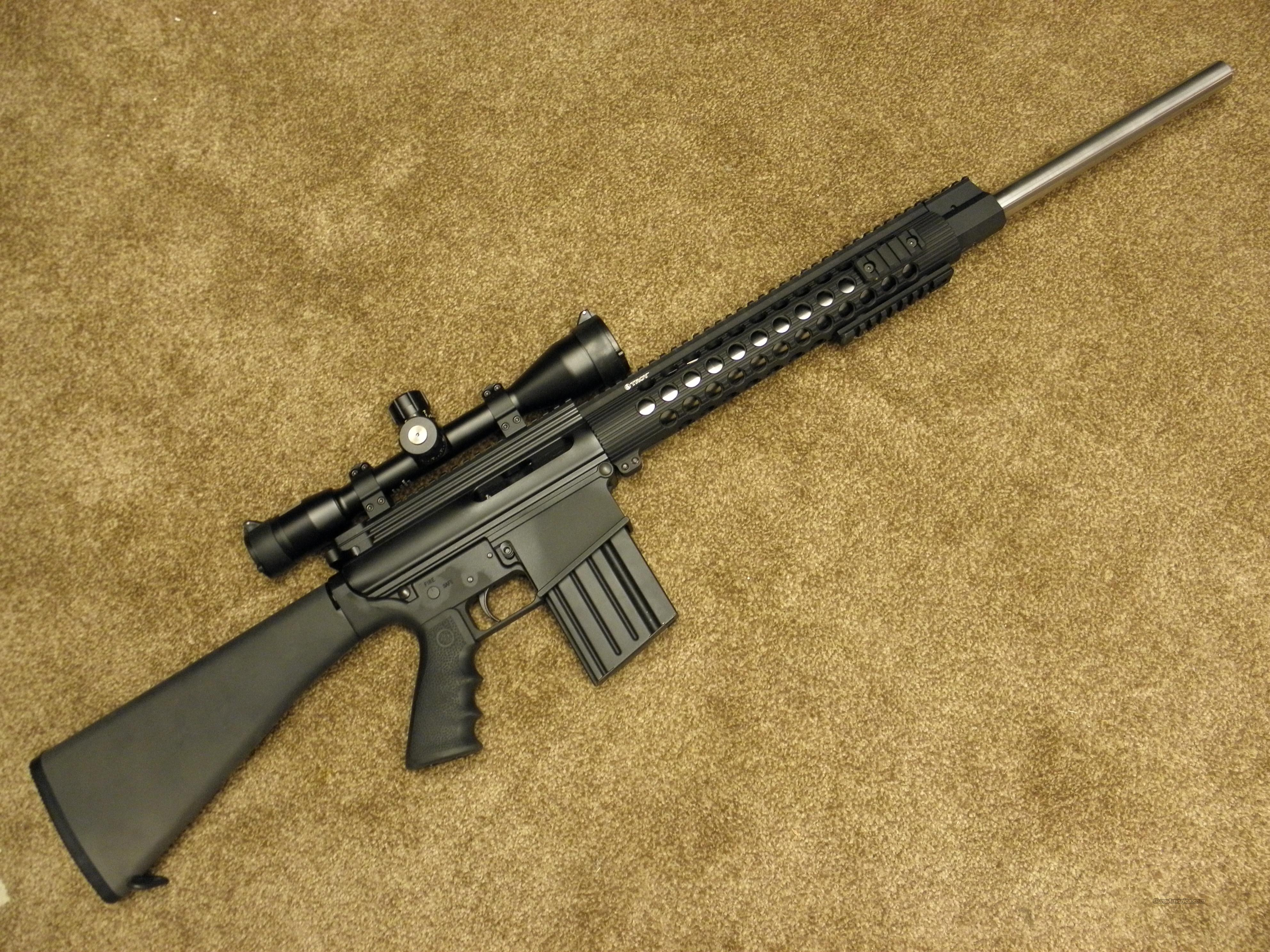 DPMS LR-308 PANTHER RIFLE W/TROY RAIL for sale