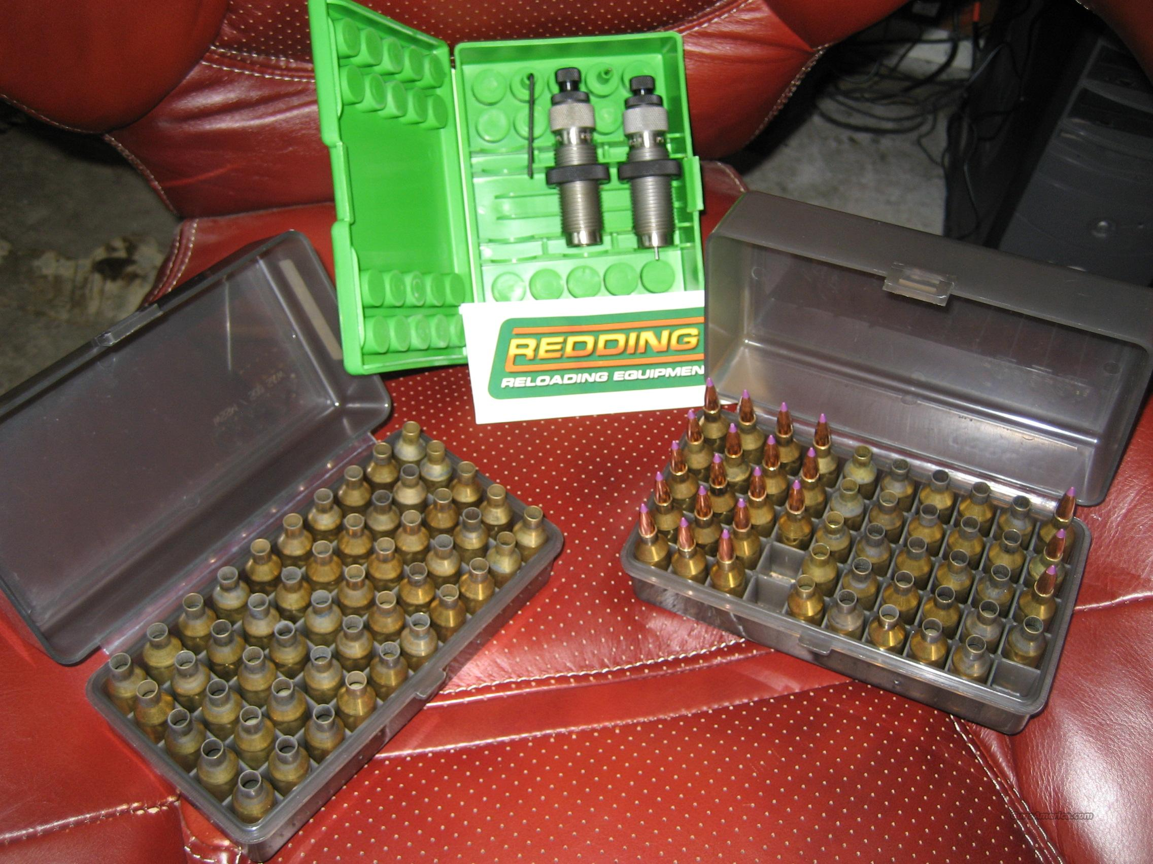Redding 243 WSSM dies & Brass  Non-Guns > Reloading > Equipment > Metallic > Dies