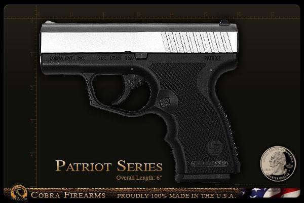 Cobra Patriot 45 Stainless   Guns > Pistols > C Misc Pistols