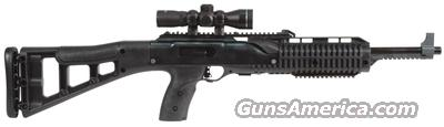HiPoint 9MM carbine with adjustable target stock and 4X scope  Guns > Rifles > Hi Point Rifles