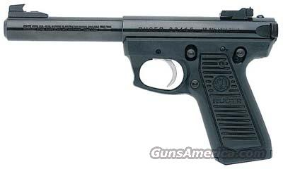 "RUGER P512MKIII 22 5.5"" BL/ AS   Guns > Pistols > Ruger Semi-Auto Pistols > Mark I & II Family"