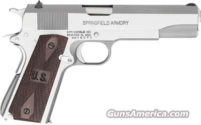 "Springfield Armory GI Stainless 5"" PW9151  Guns > Pistols > Springfield Armory Pistols > 1911 Type"