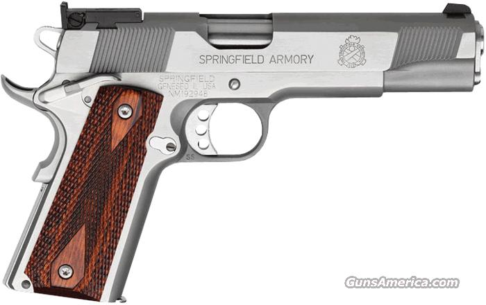 Springfield Armory 45 Target Loaded(PI9132LP) 5IN SS A/S OK FOR CA  Guns > Pistols > Springfield Armory Pistols > 1911 Type