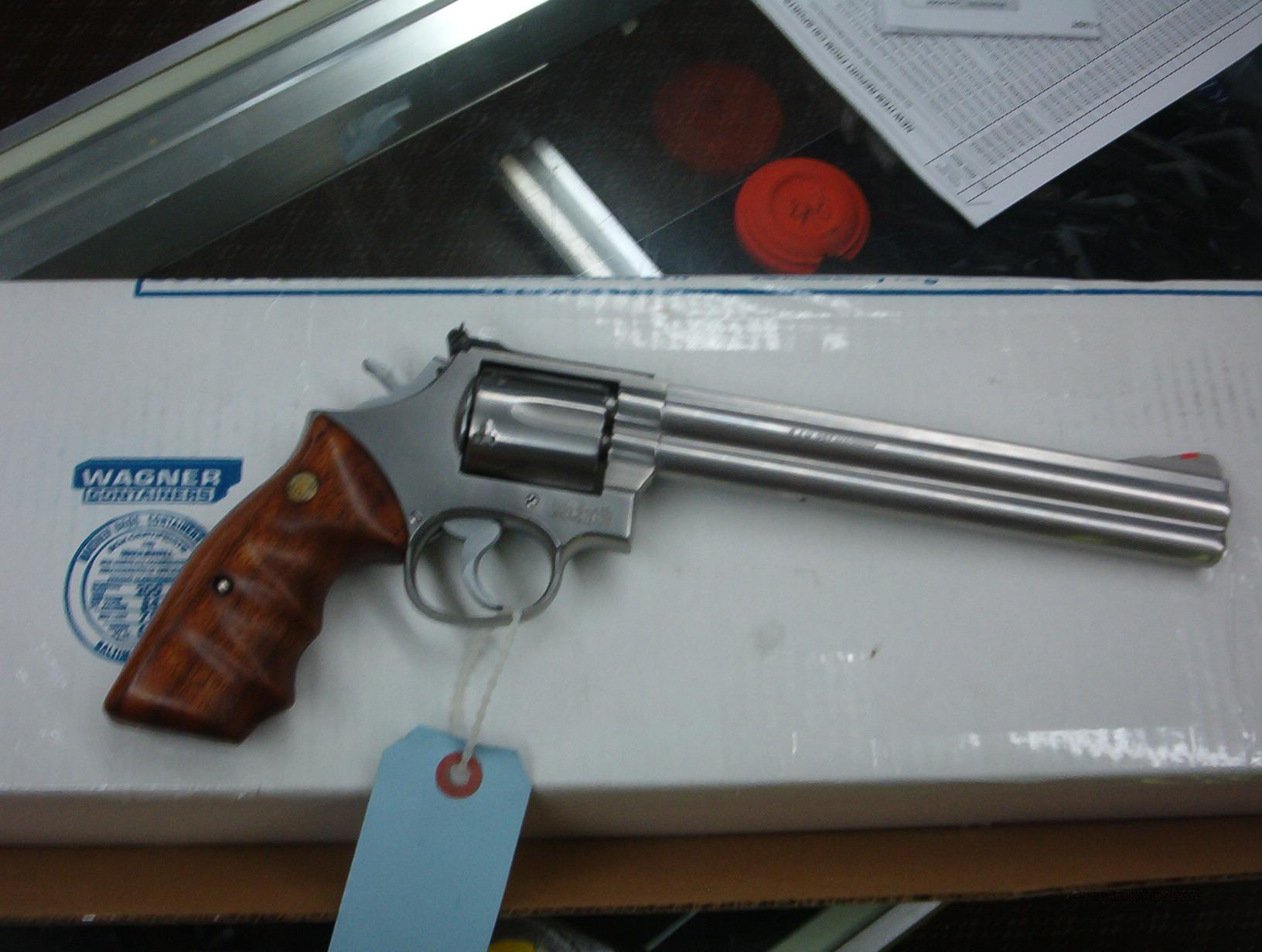 smith wesson 686 357 mag.8'' stainless  Guns > Pistols > Smith & Wesson Revolvers > Full Frame Revolver