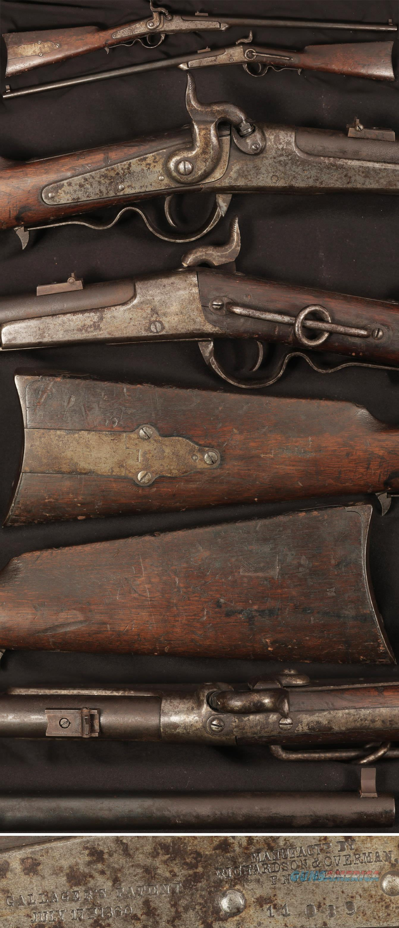 Gallager percussion breech loading carbine  Guns > Rifles > Antique (Pre-1899) Rifles - Perc. Misc.