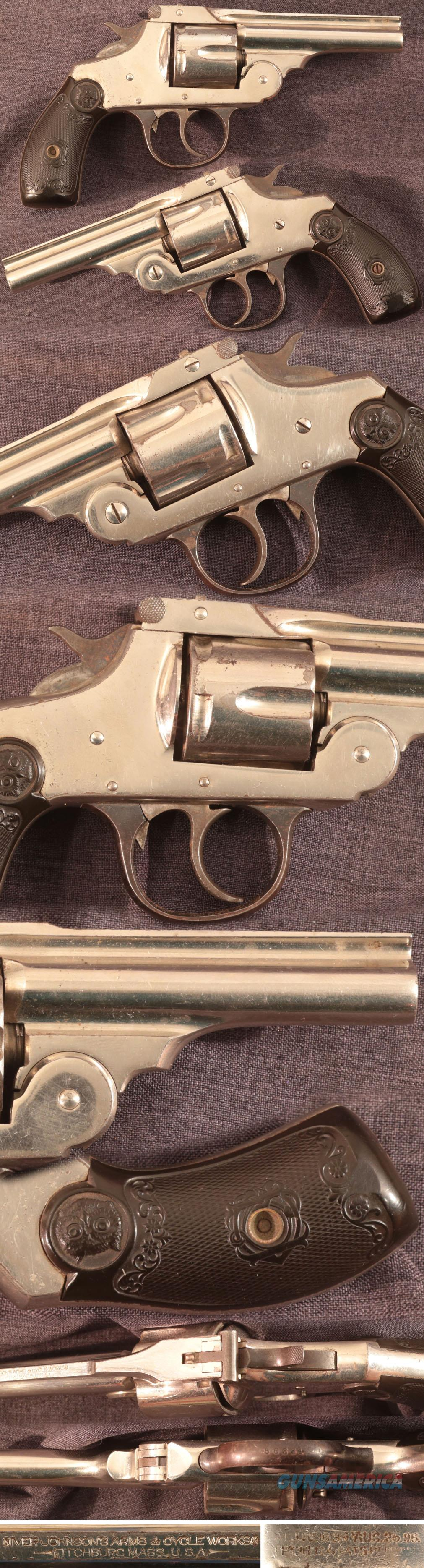 antique Iver Johnson 38 centerfire double action revolver  Guns > Pistols > Iver Johnson Pistols