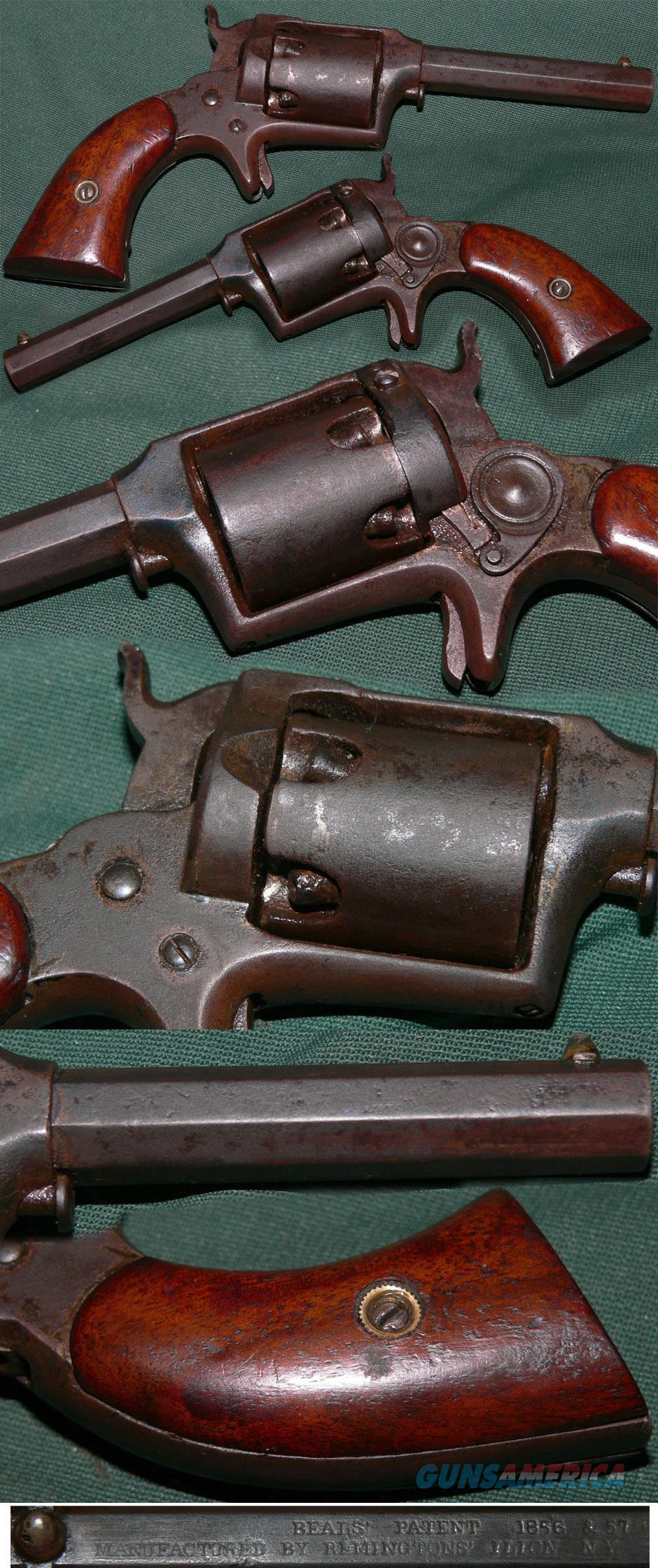 rare Remington Beals 2nd model pocket revolver  Guns > Pistols > Remington Pistols - Pre-1899