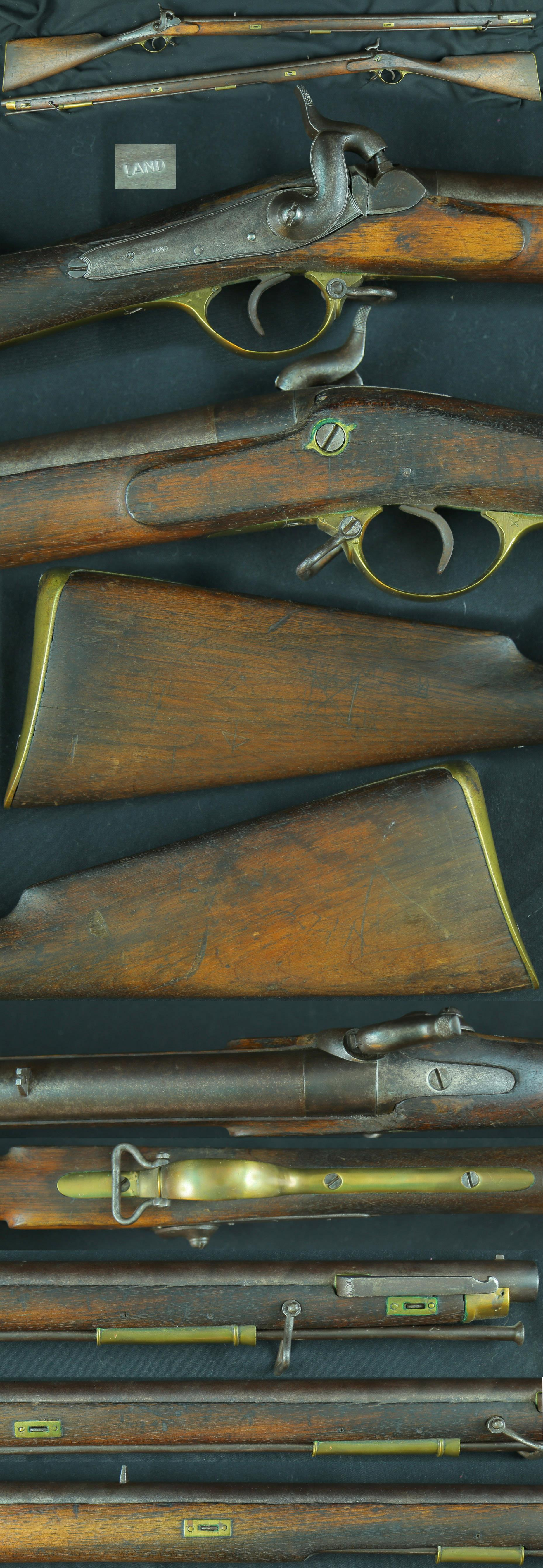 British P1841 Brunswick smooth rifle  Guns > Rifles > Muzzleloading Pre-1899 Rifles (perc)