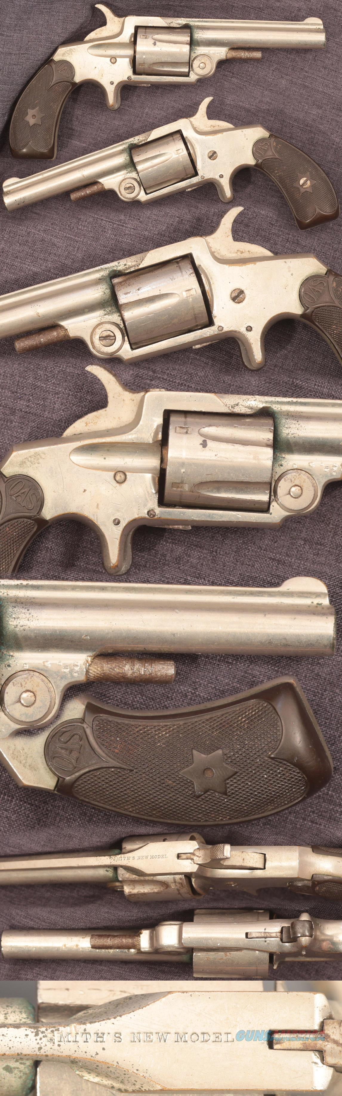 Smith's New Model 32 rimfire spur trigger revolver  Guns > Pistols > Smith & Wesson Revolvers > Pre-1899