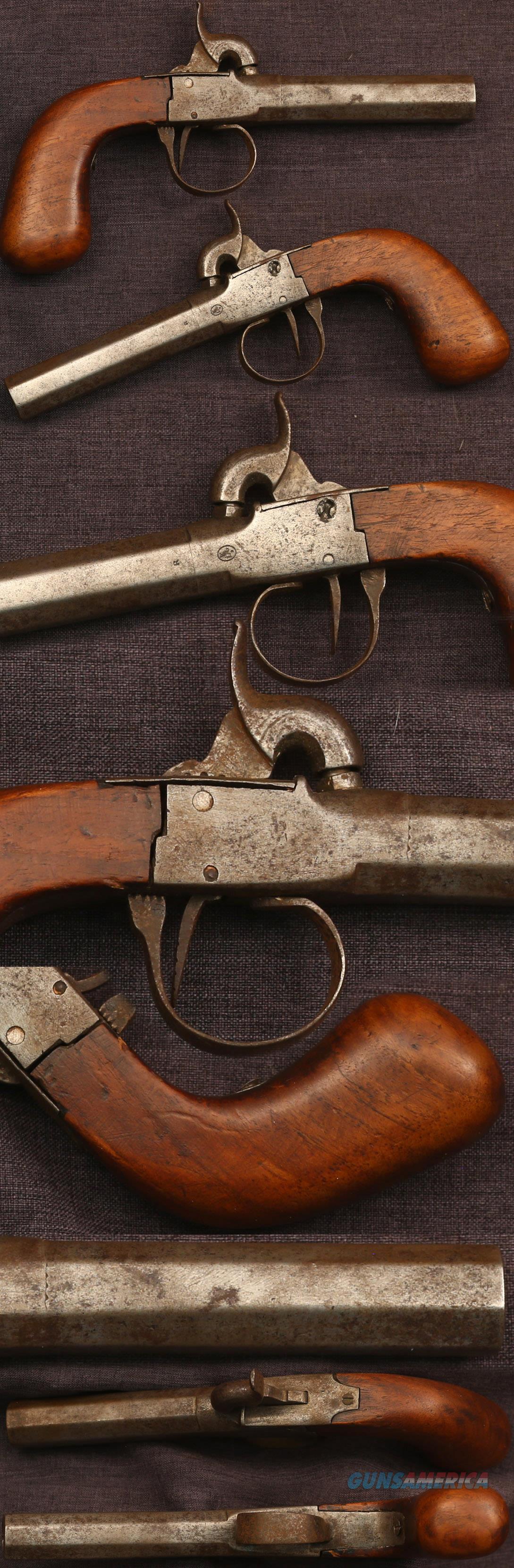 plain Percussion boxlock pistol  Guns > Pistols > Muzzleloading Pre-1899 Pistols (perc)
