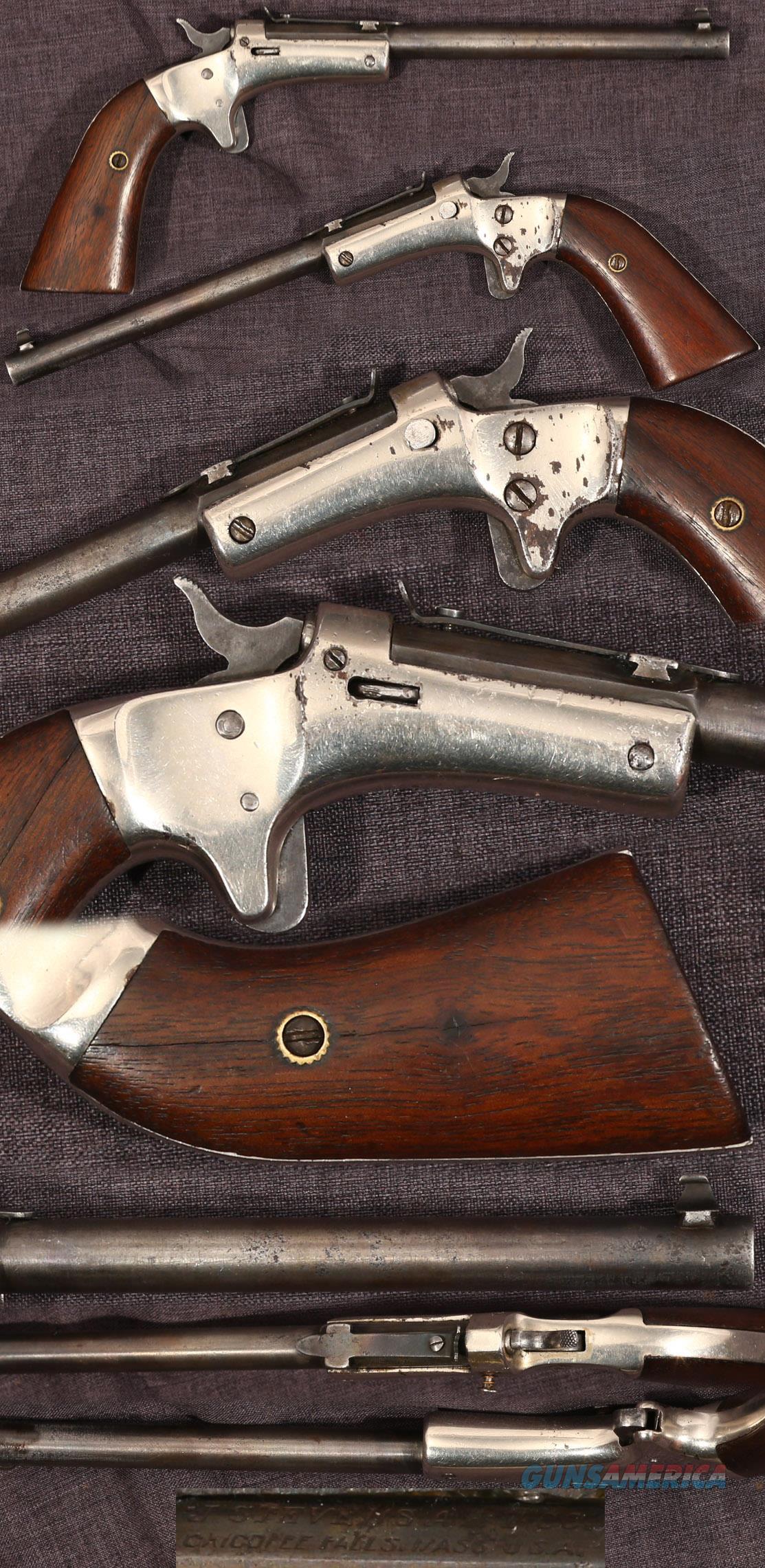 "Stevens Diamond early 22 pistol 6"" barrel  Guns > Pistols > Antique (Pre-1899) Pistols - Ctg. Misc."