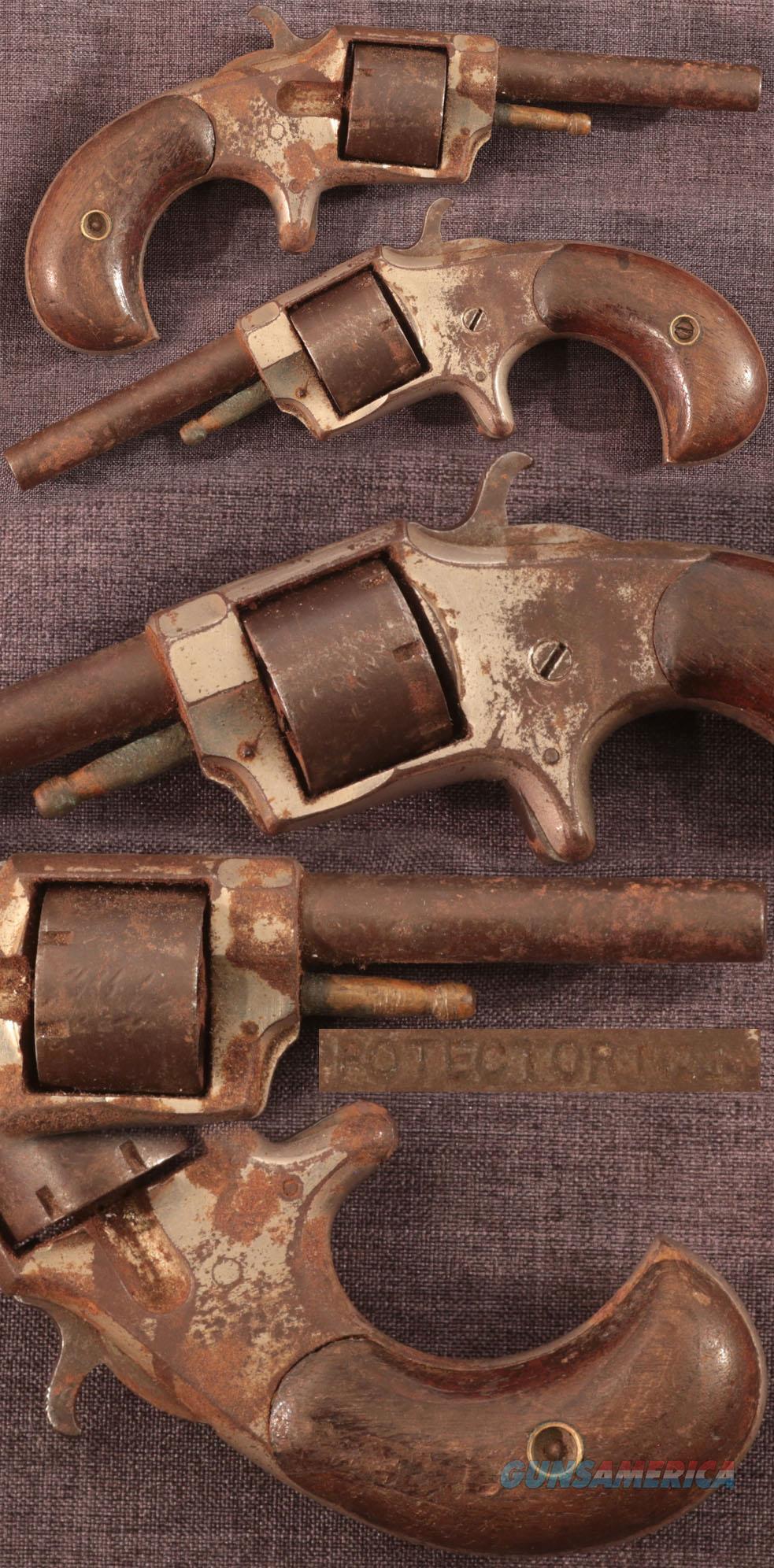 """""""PROTECTOR No1"""" 22 caliber revolver  Guns > Pistols > Antique (Pre-1899) Pistols - Ctg. Misc."""