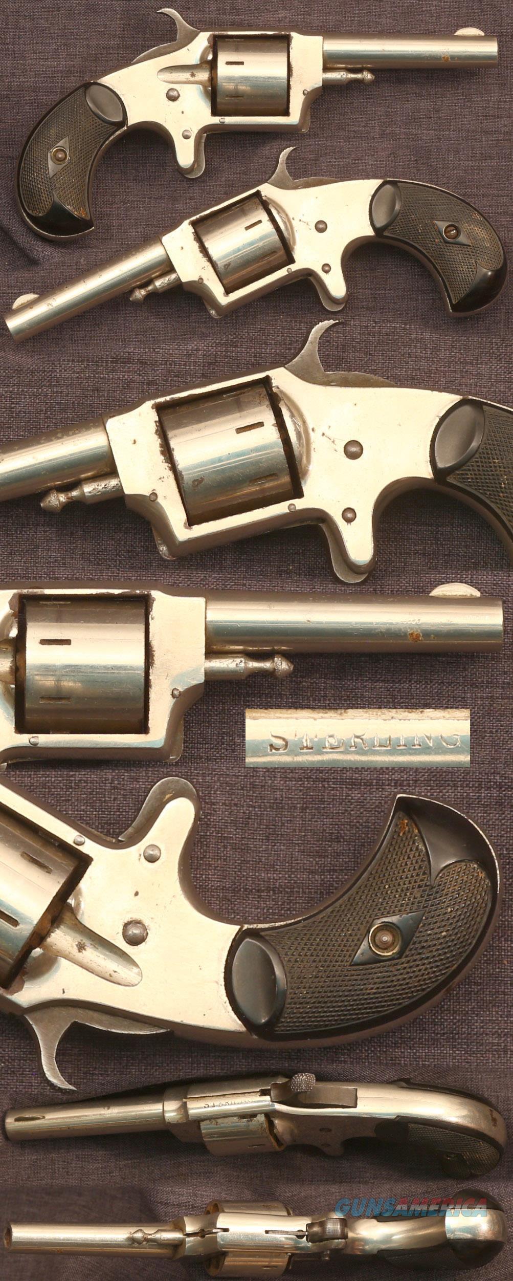 """STERLING"" .32 spur trigger revolver  Guns > Pistols > Antique (Pre-1899) Pistols - Ctg. Misc."