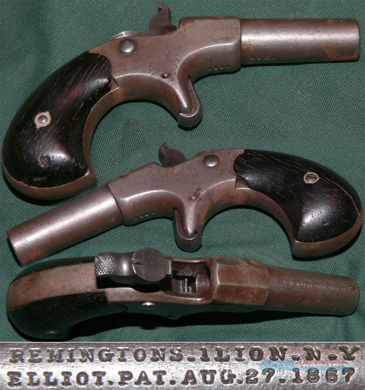 Remington Elliot single shot 41 rimfire derringer  Guns > Pistols > Remington Pistols - Pre-1899