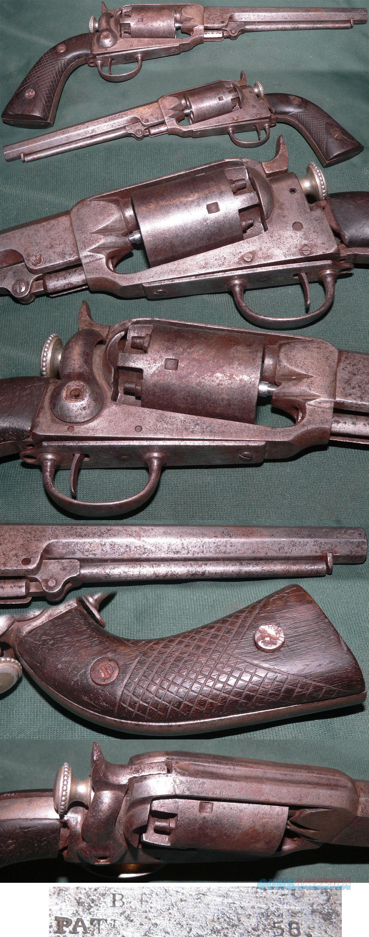 rare B.F.Joslyn Army model percussion revolver  Guns > Pistols > Antique (Pre-1899) Pistols - Perc. Misc.