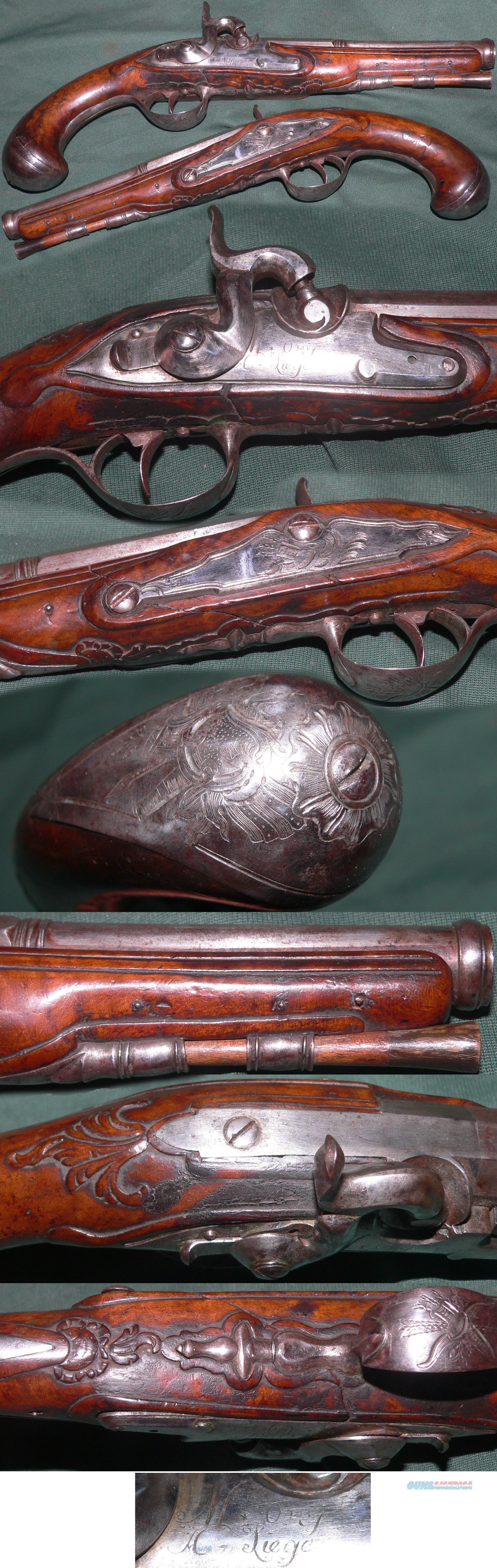 "beautiful C1750-80 European pistol by ""Lory a Liege""  Guns > Pistols > Muzzleloading Pre-1899 Pistols (perc)"