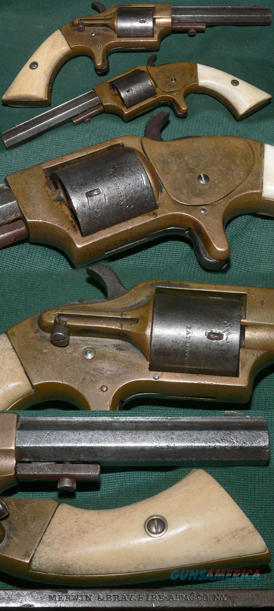 Plant's Manufacturing Co., .30 caliber cup-primed front loading revolver  Guns > Pistols > Antique (Pre-1899) Pistols - Ctg. Misc.