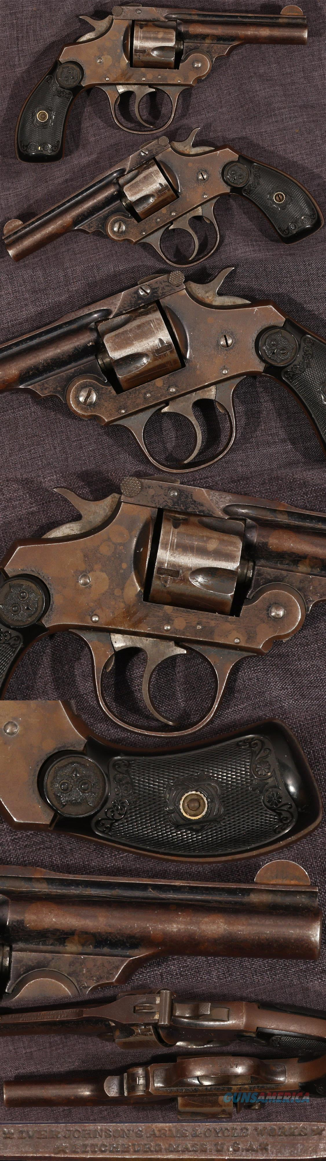 antique Iver Johnson 32 caliber double action revolver  Guns > Pistols > Iver Johnson Pistols