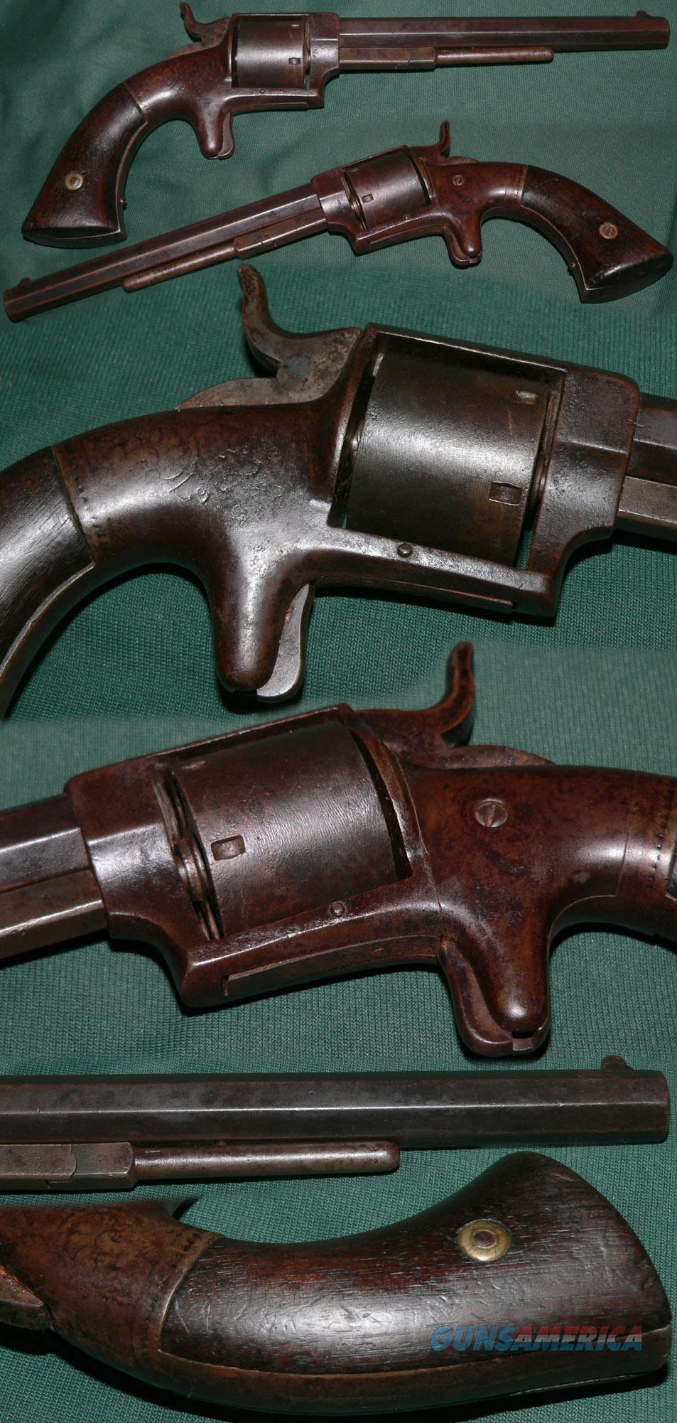 "Thomas K. Bacon, Norwich, CT, ""Navy"" .38 revolver  Guns > Pistols > Antique (Pre-1899) Pistols - Ctg. Misc."