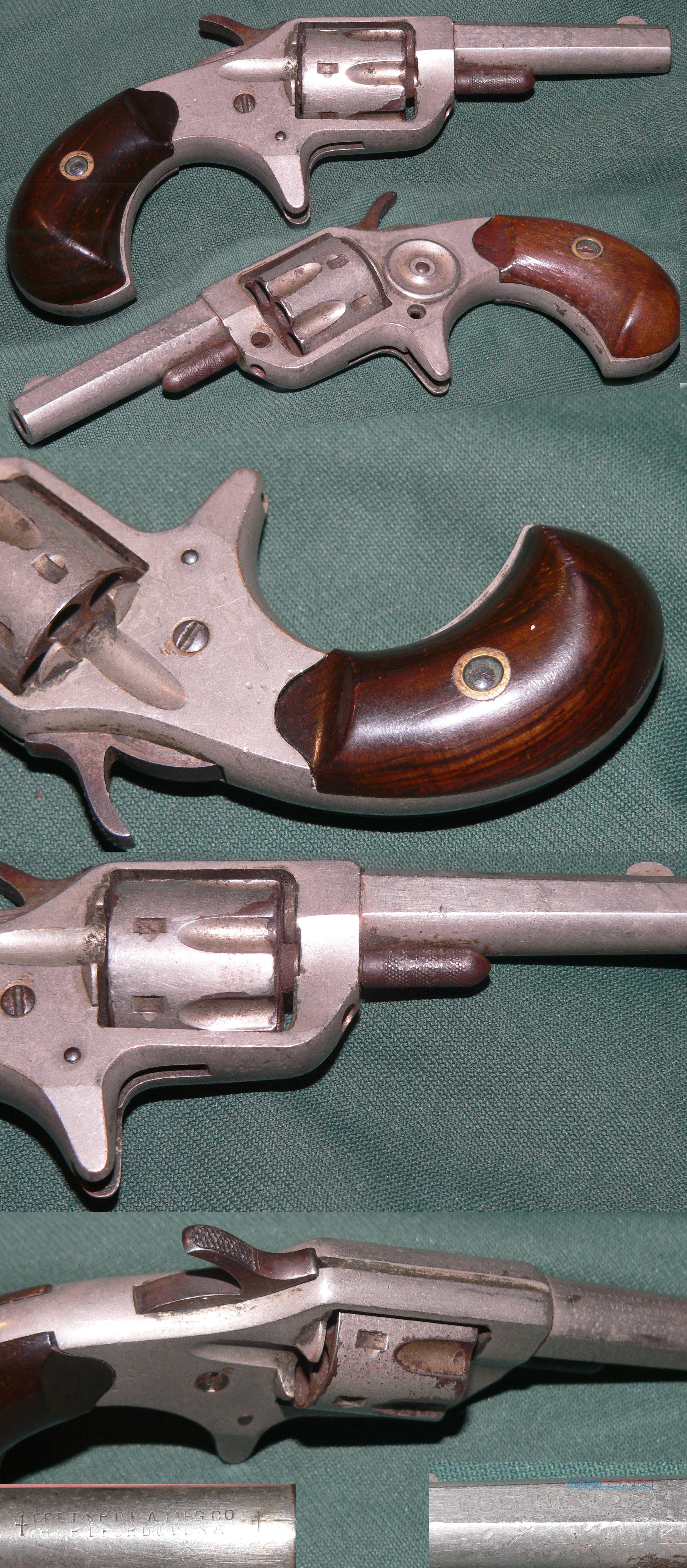 scarce first model Colt New Line 22 caliber revolver  Guns > Pistols > Colt Single Action Revolvers - 1st Gen.