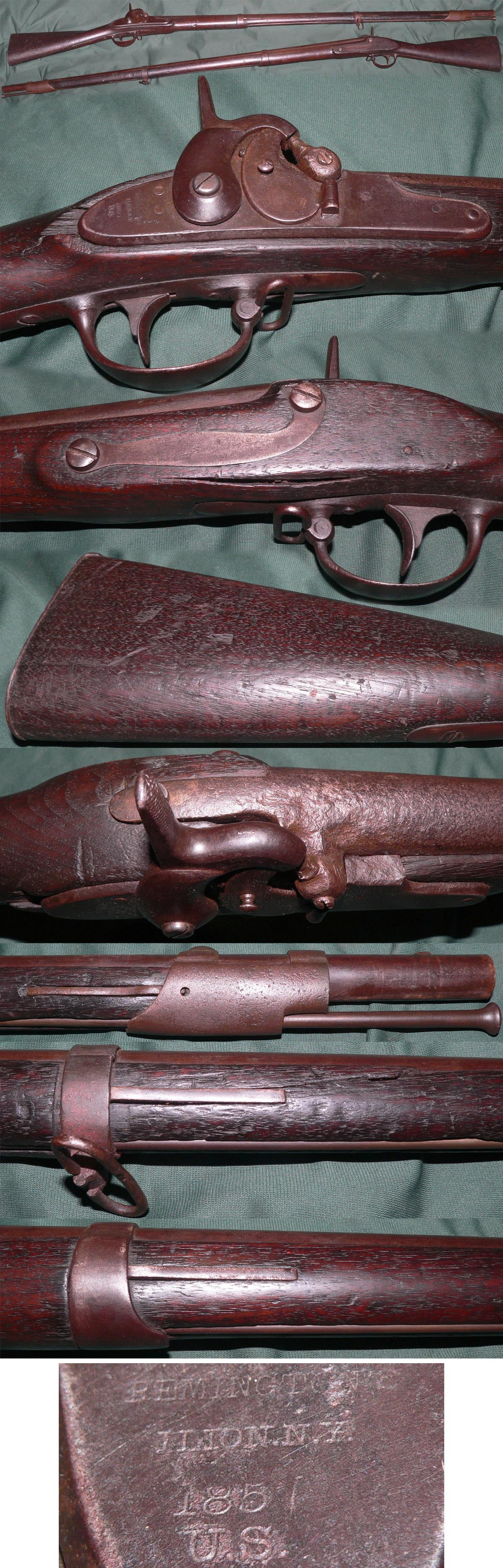 Remington Maynard conversion percussion musket  Guns > Rifles > Muzzleloading Pre-1899 Rifles (perc)