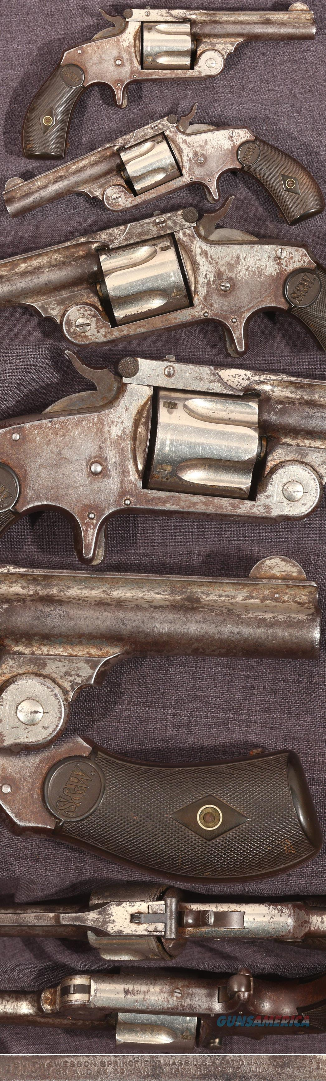Smith & Wesson 38 SA second model revolver  Guns > Pistols > Smith & Wesson Revolvers > Pre-1899