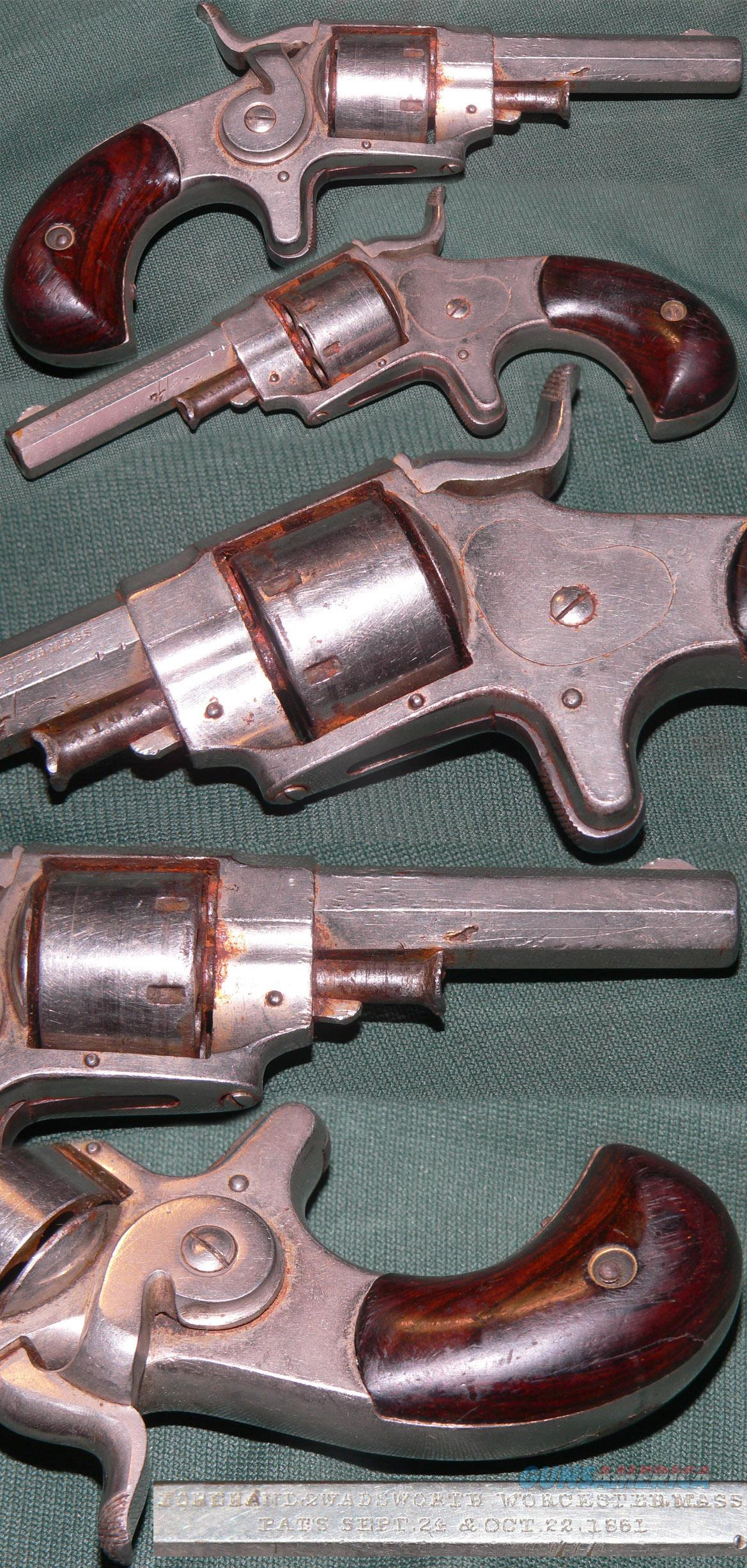 Forehand & Wadsworth side hammer .22 revolver  Guns > Pistols > Antique (Pre-1899) Pistols - Ctg. Misc.