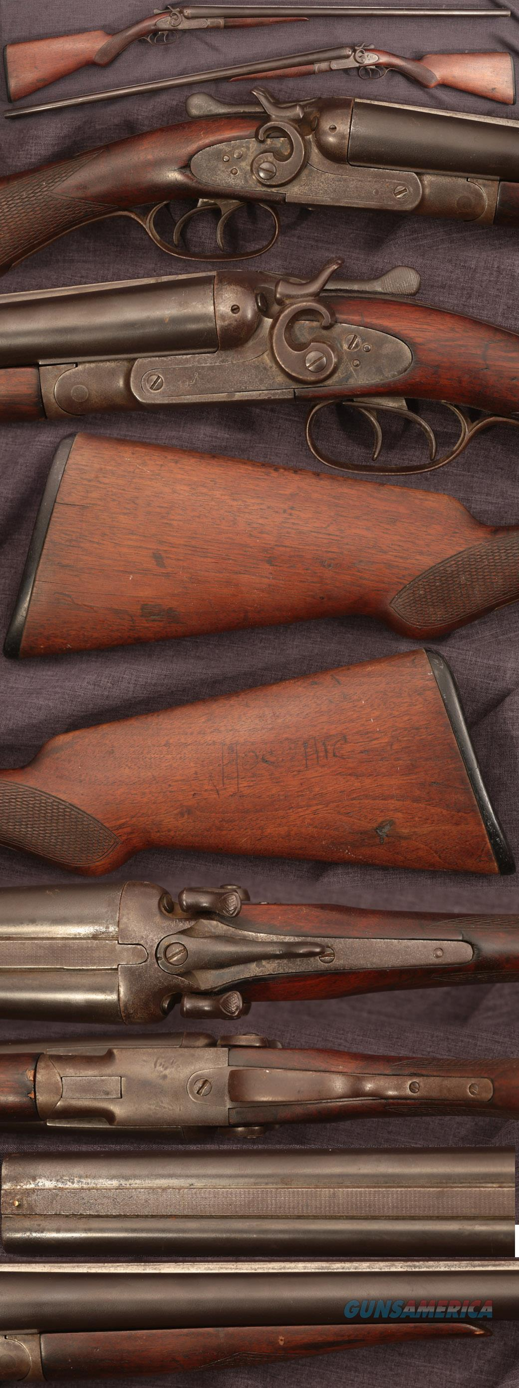 N.R.Davis antique American double shotgun  Guns > Shotguns > Antique (Pre-1899) Shotguns - Misc.