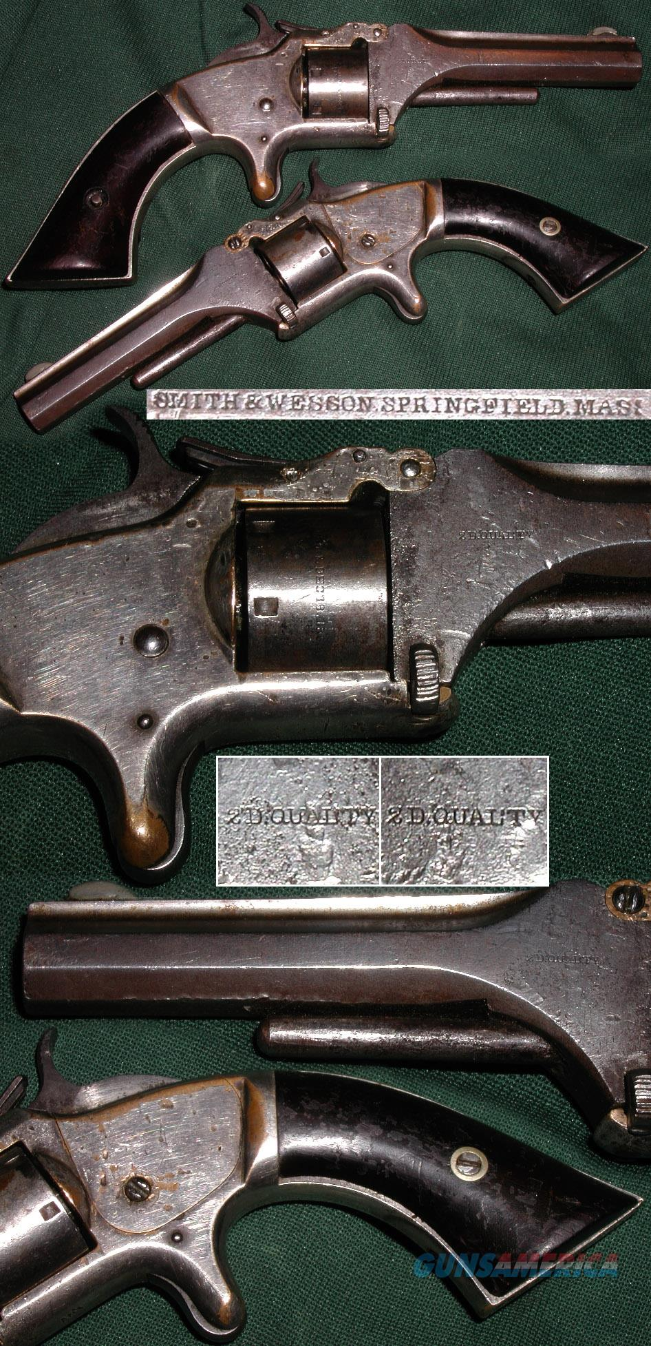 Rare 1st Model, 2nd Issue 2ND QUALITY 22 revolver  Guns > Pistols > Smith & Wesson Revolvers > Pre-1899