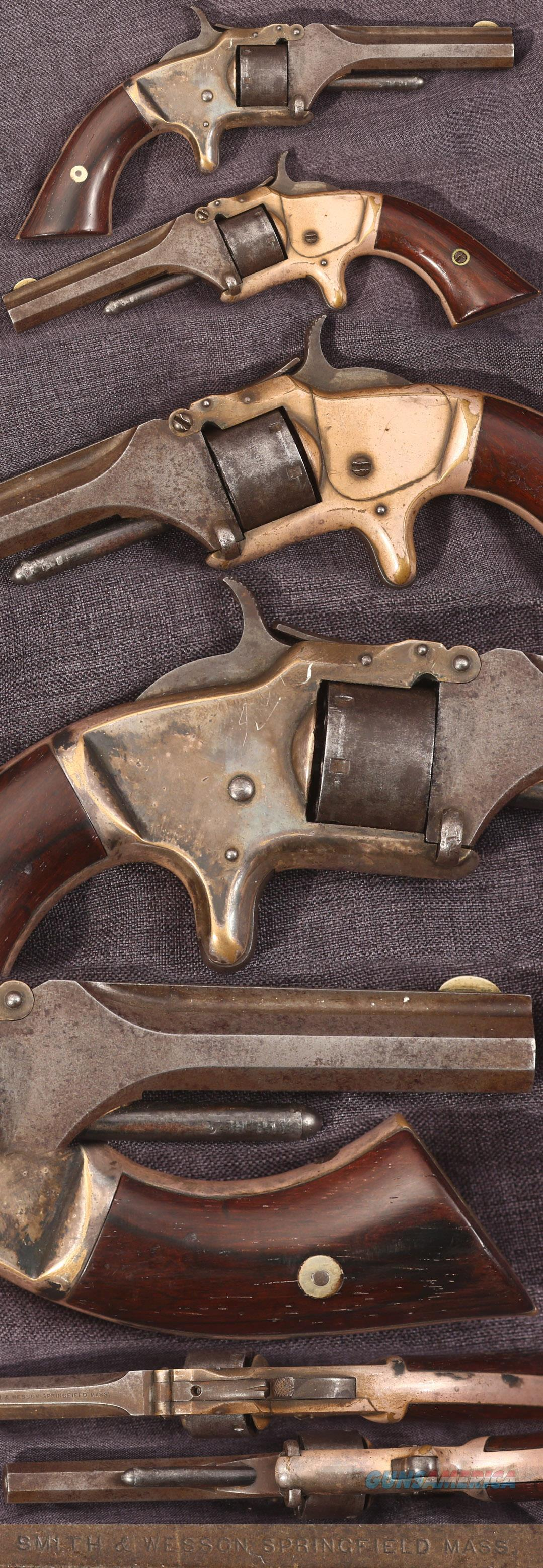 Smith & Wesson first model, second issue 22 revolver  Guns > Pistols > Smith & Wesson Revolvers > Pre-1899