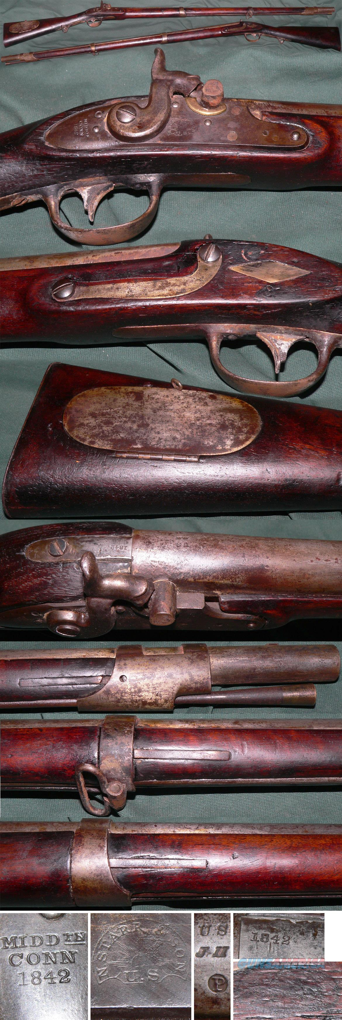 "US M1817 ""Common"" rifle by N. Starr, 1842  Guns > Rifles > Muzzleloading Pre-1899 Rifles (perc)"