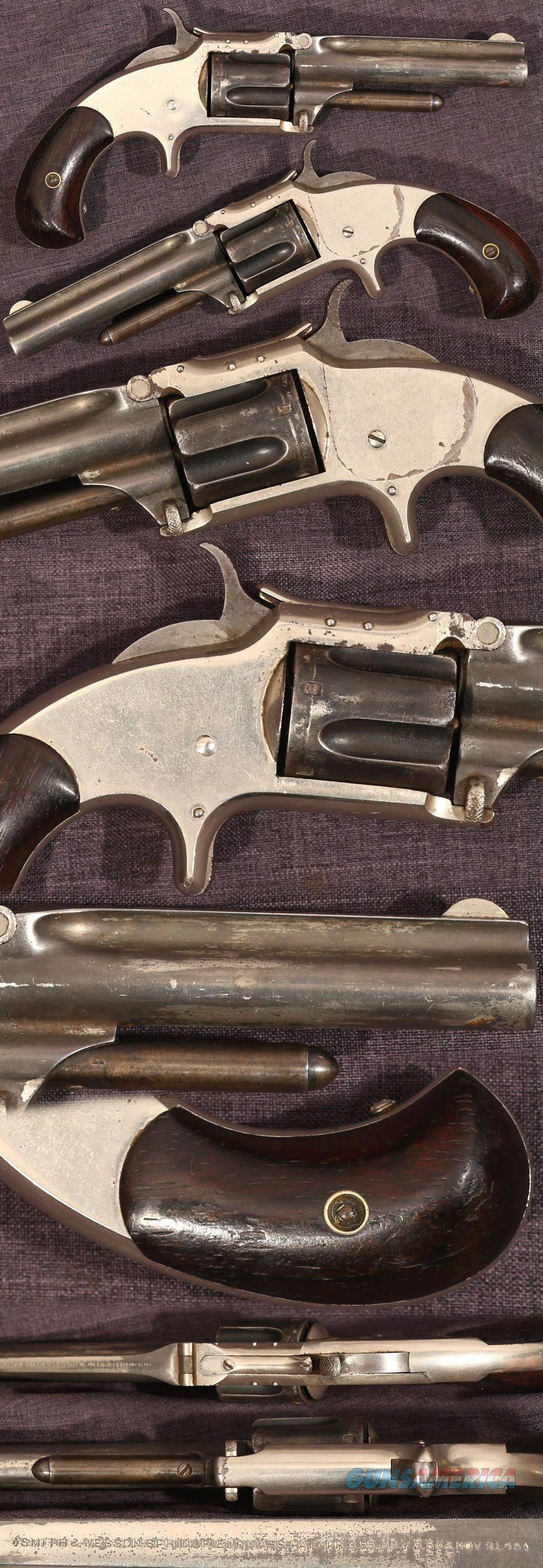 Smith & Wesson Model 1-1/2 second issue revolver  Guns > Pistols > Smith & Wesson Revolvers > Pre-1899