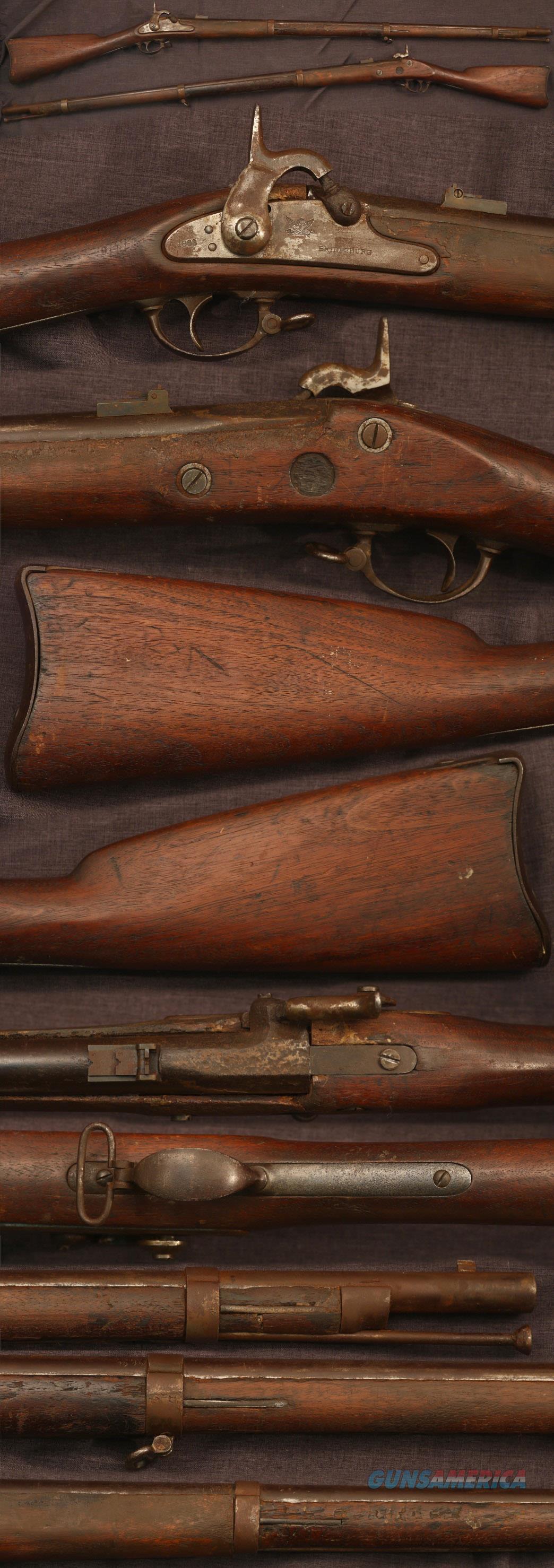M1861 US Bridesburg contract musket, restored  Guns > Rifles > Muzzleloading Pre-1899 Rifles (perc)