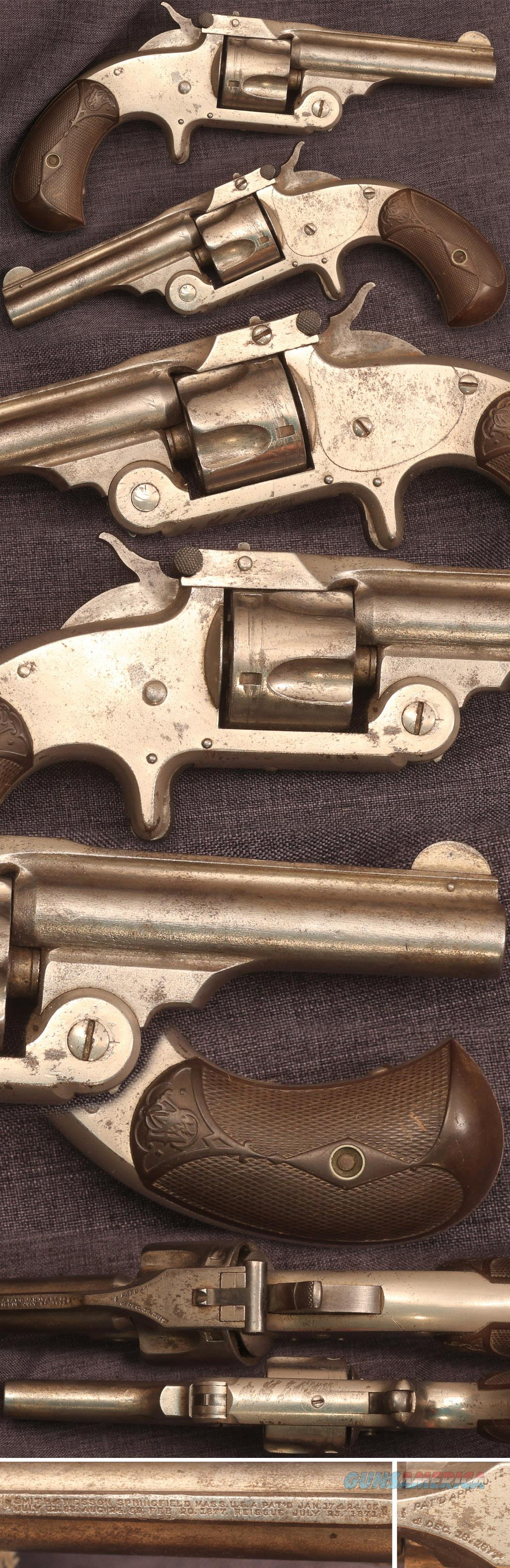 Smith & Wesson No 1-1/2 32 Single Action revolver  Guns > Pistols > Smith & Wesson Revolvers > Pre-1899
